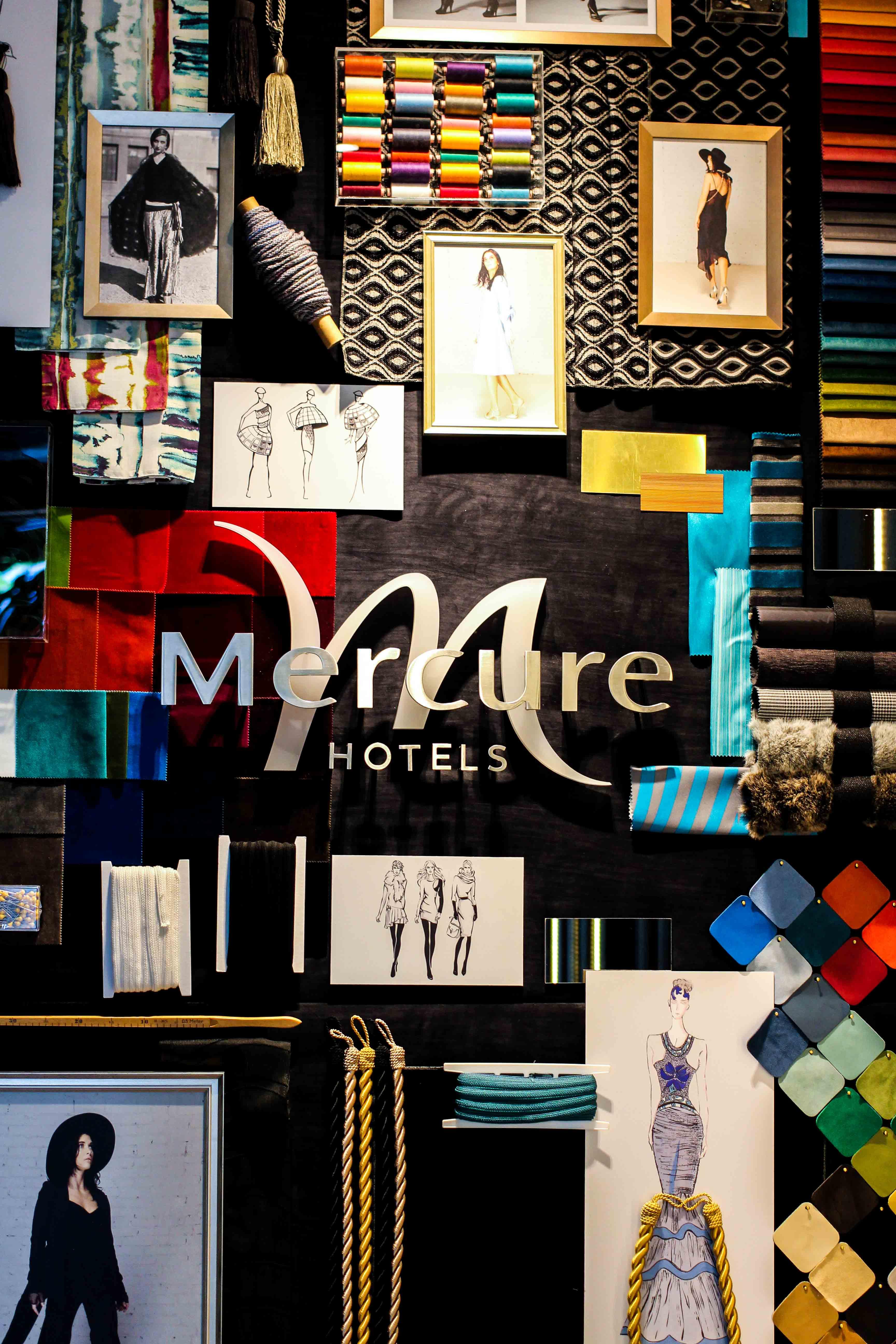 Hotel Fashion Week Mercure Hotel Berlin Wittenbergplatz Berlins Trend-Hotel Lobby Eingang