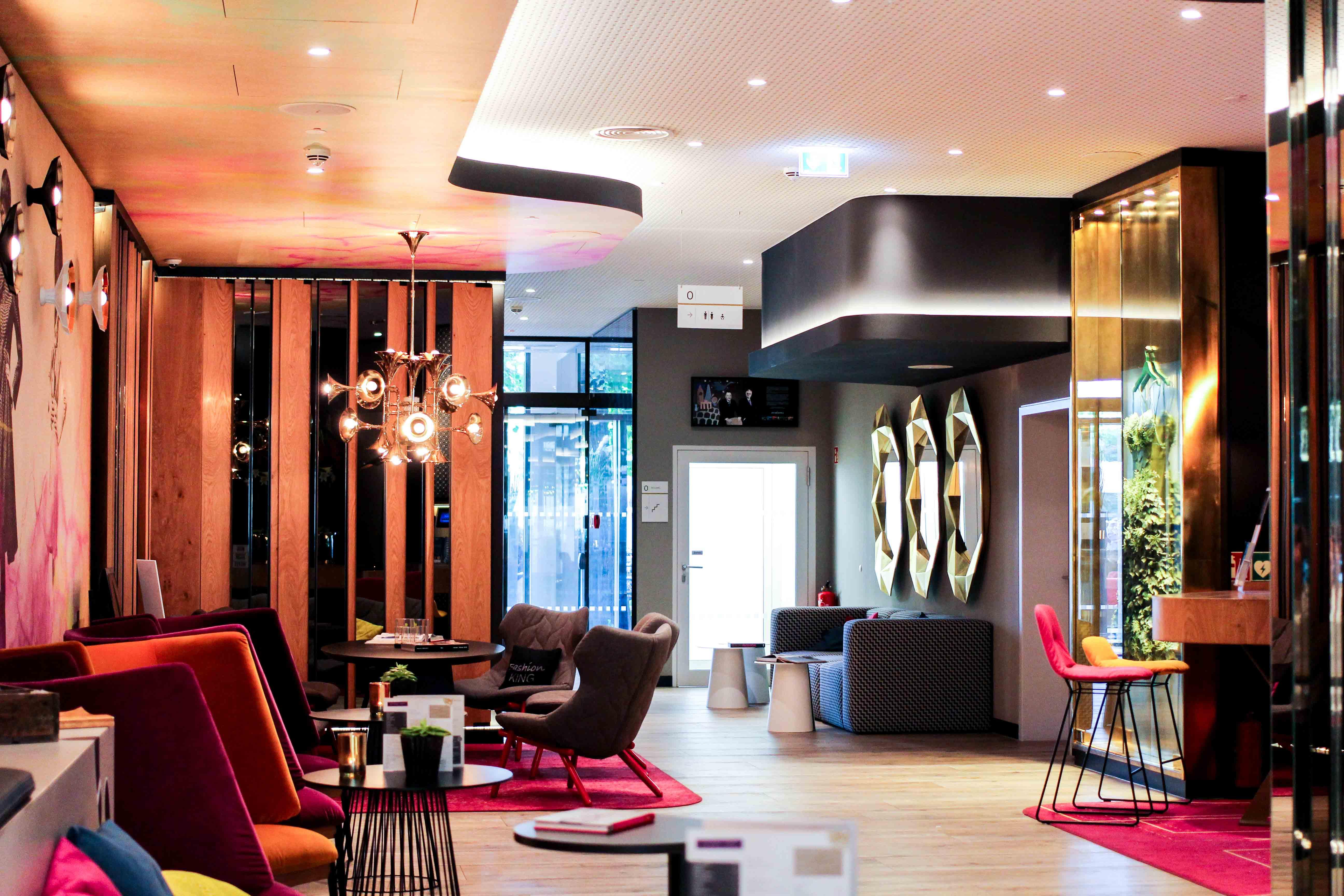Hotel Fashion Week Mercure Hotel Berlin Wittenbergplatz Berlins Trend-Hotel Lobby