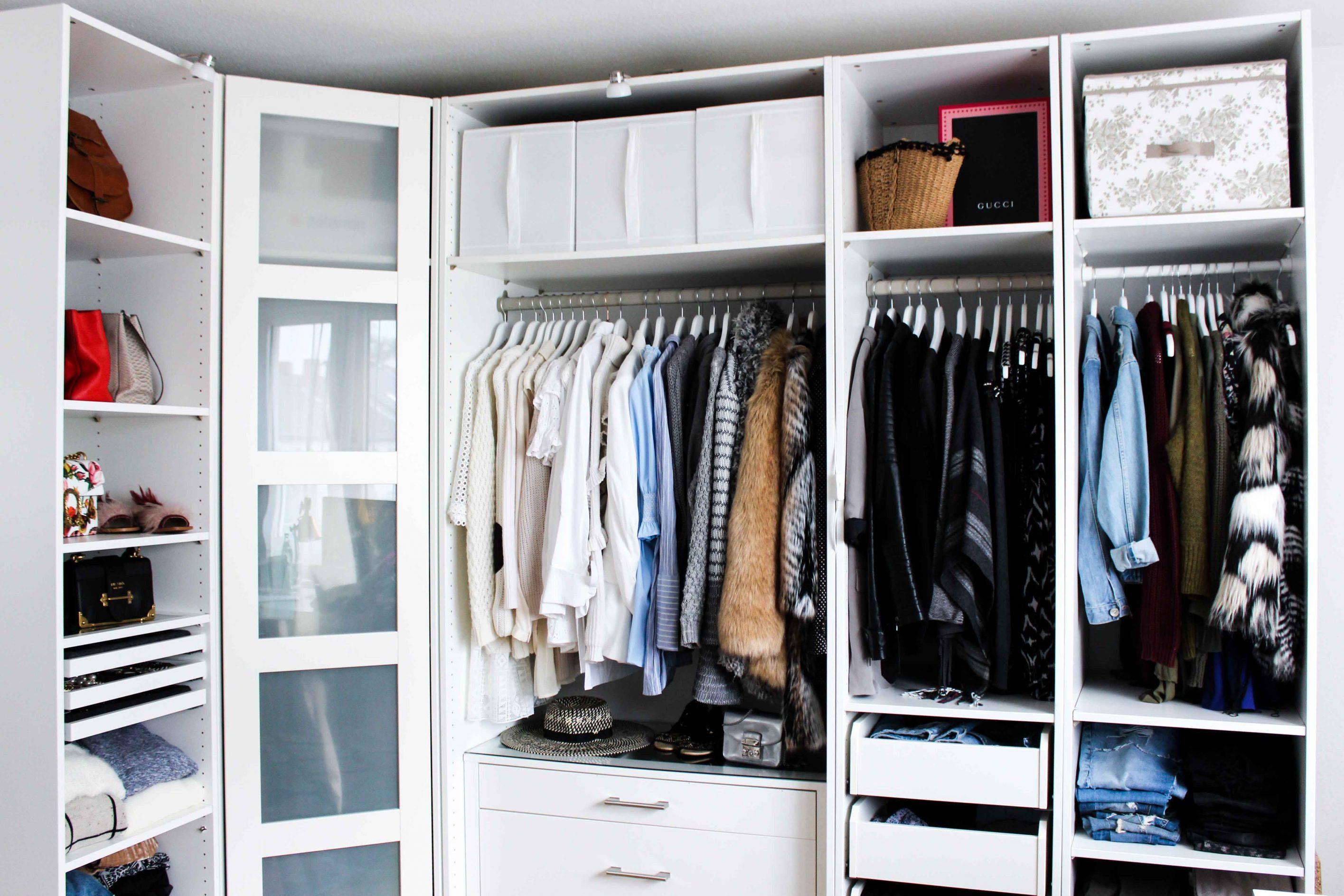 Mein Ankleidezimmer Tipps Fur Den Pax Kleiderschrank
