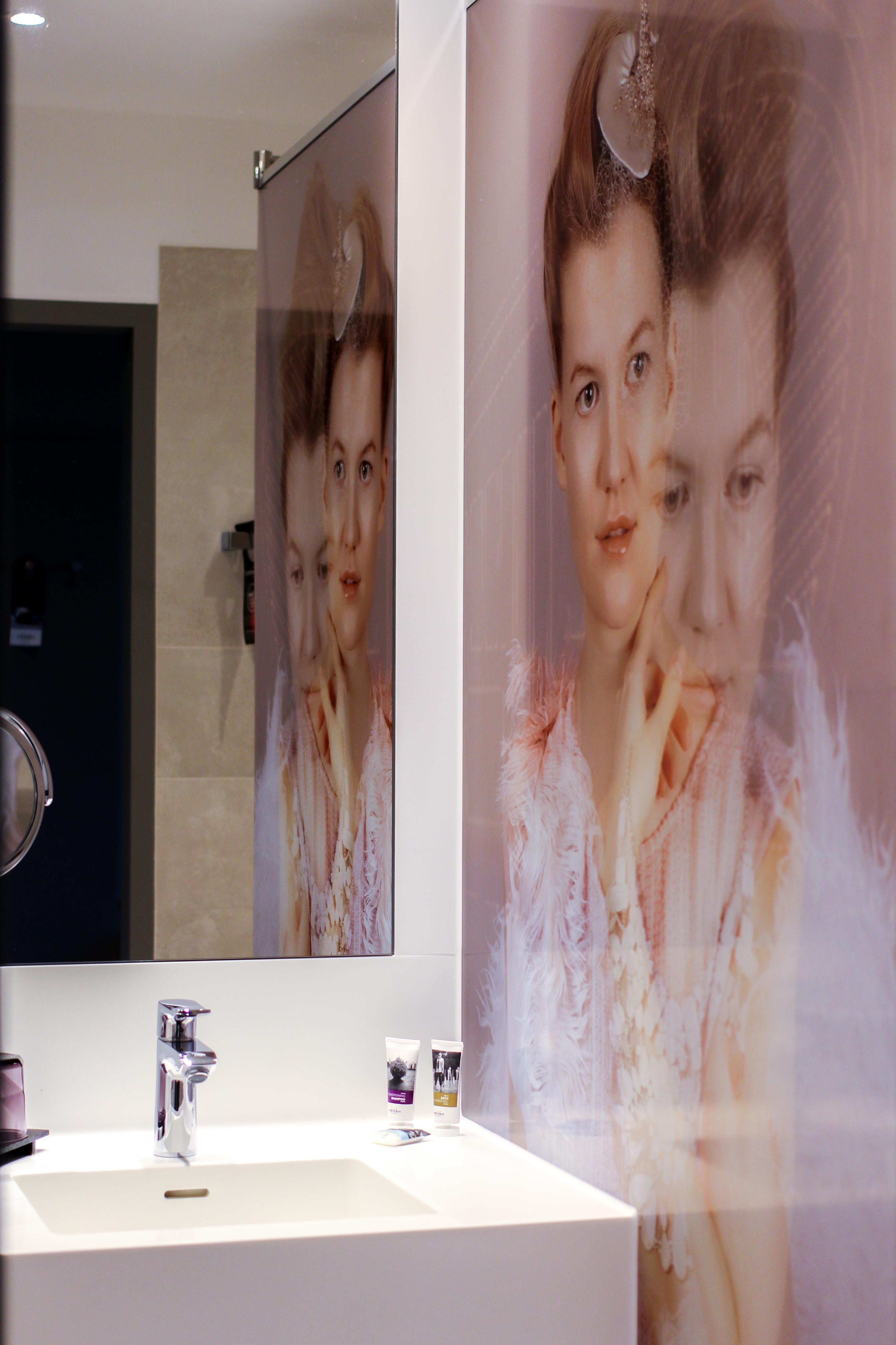 Mein Hotel zur Fashion Week Mercure Hotel Berlin Wittenbergplatz Berlins Trend-Hotel Modeblogger Zimmer Badezimmer