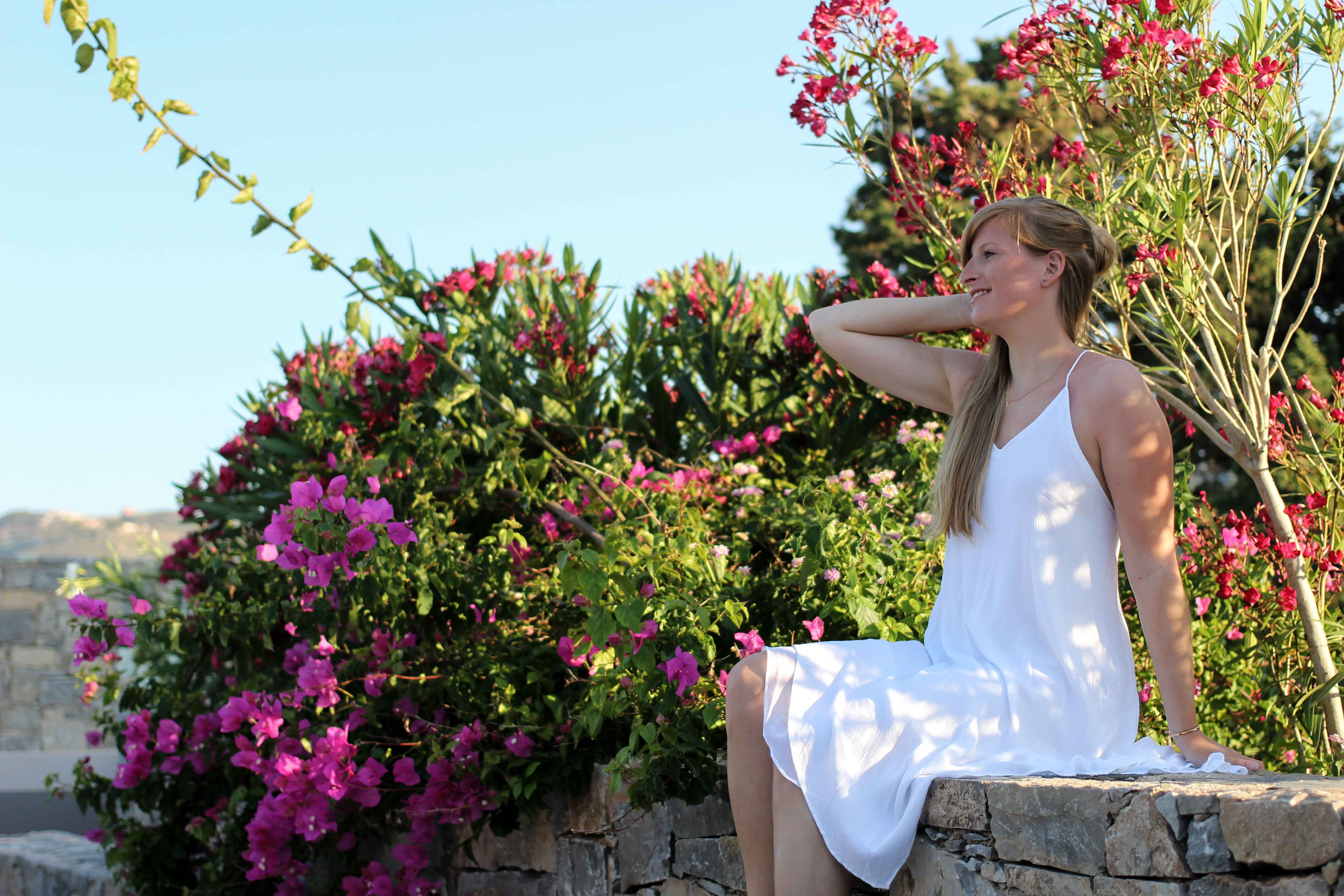 Modeblog Deuschland Fashion Blog Griechenland Kreta Sommeroutfit Blogger life weißes Kleid 8