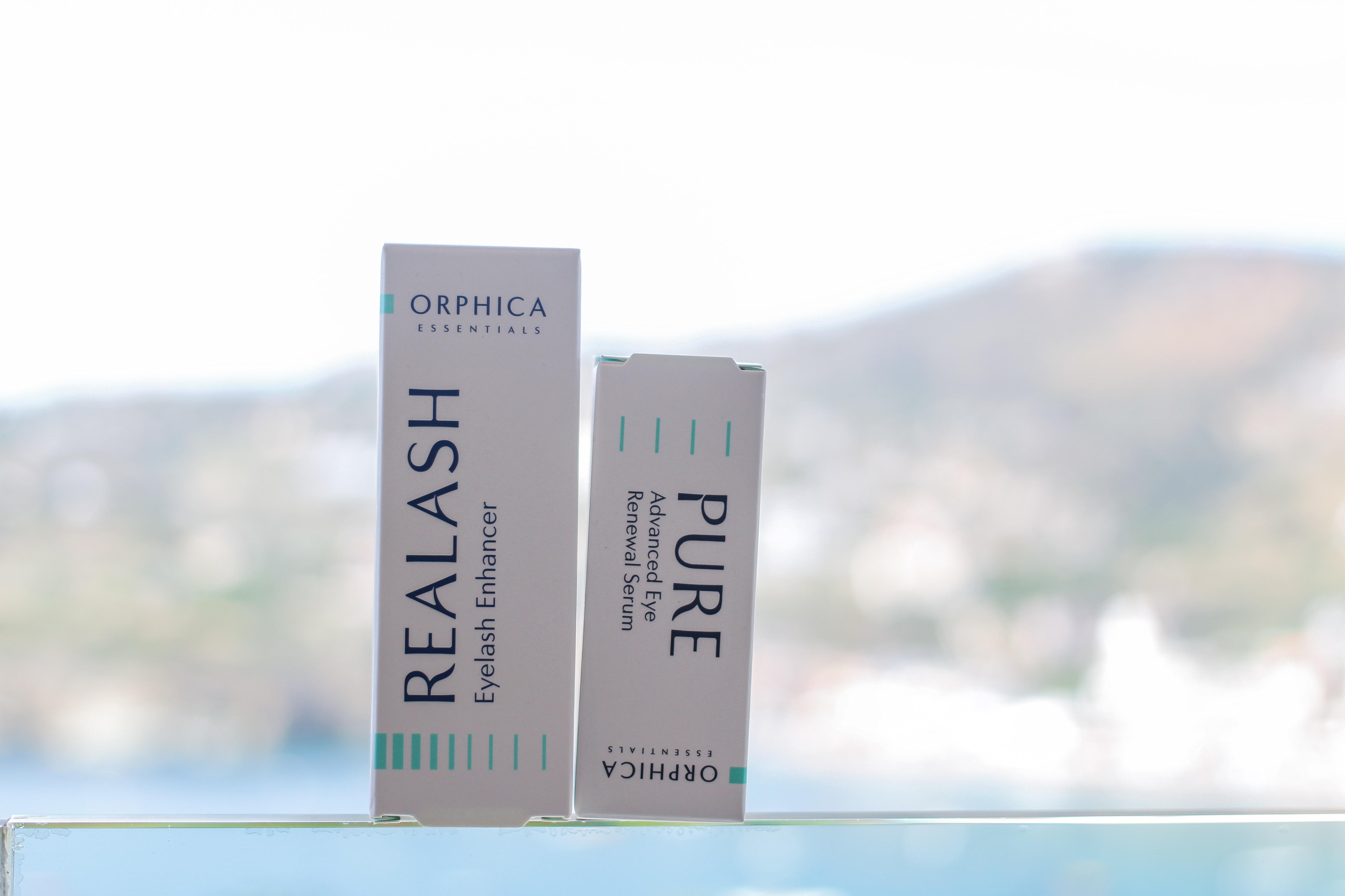 Augenpartie Lange Wimpern RELASH Wimpernserum frische Haut PURE Serum gegen Falten Orphica Beauty Blog 3