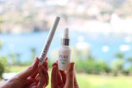 Augenpartie Lange Wimpern RELASH Wimpernserum frische Haut PURE Serum gegen Falten Orphica Beauty Blog 4