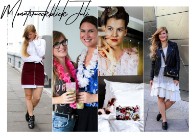 Monatsrückblick Juli Modeblog Deutschland Fashion Blog streetstyle Outfit