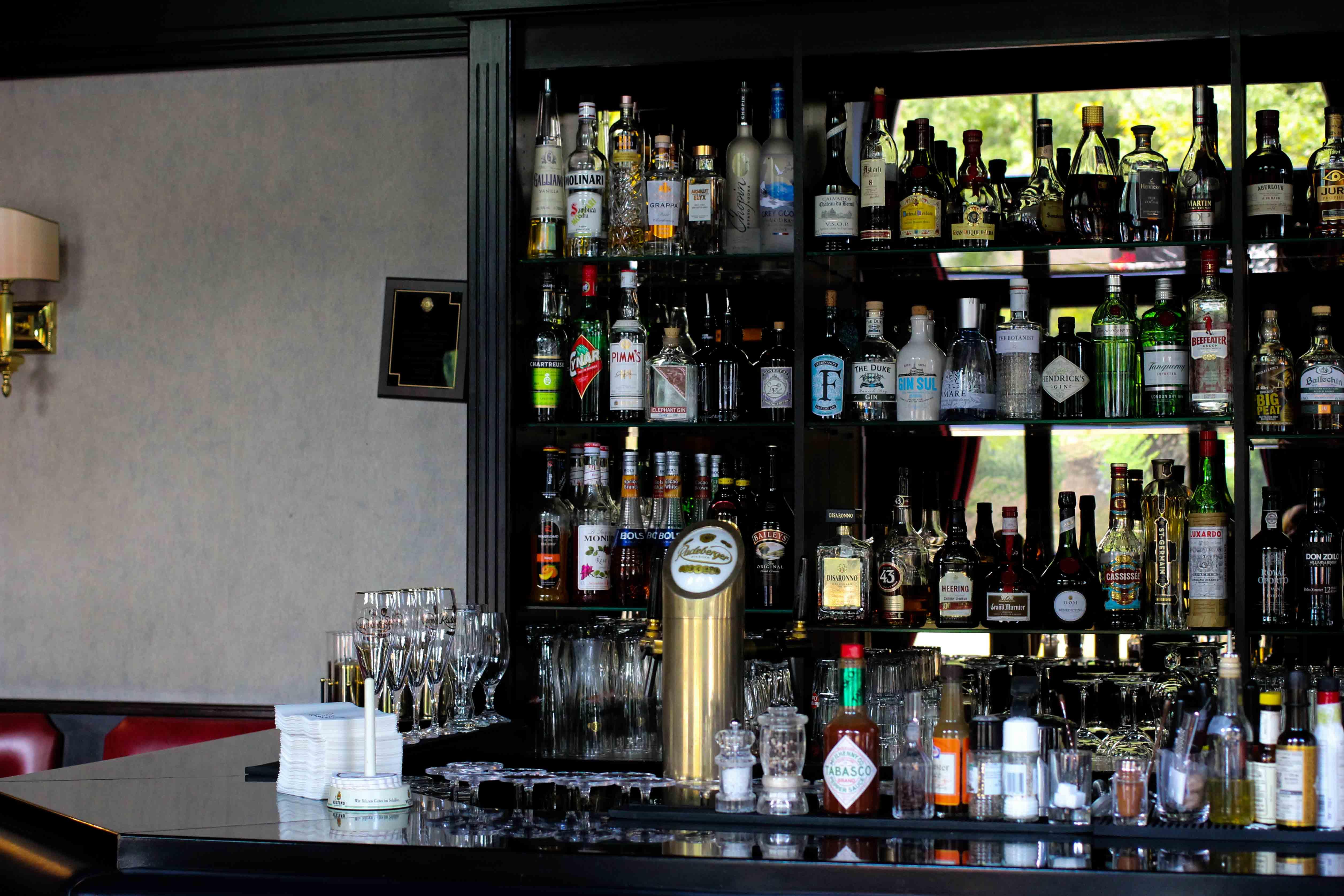 Schlosshotel Karlsruhe Bar Lounge Luxushotel Hotel Review Reiseblog Brinisfashionbook 3