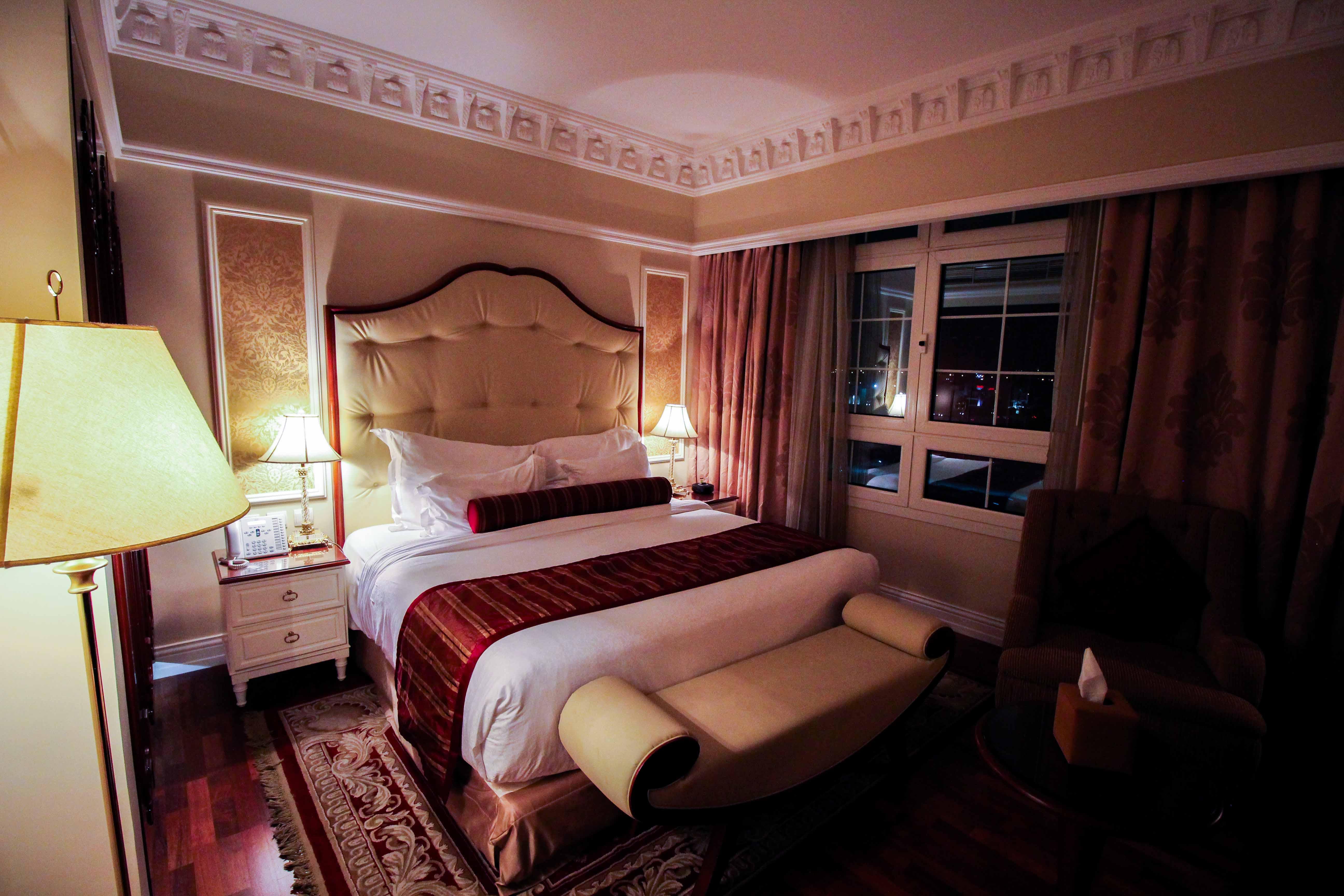 Warwick Hotel Doha Executive Room Luxushotel 5 Sterne Hotel katar Reiseblog