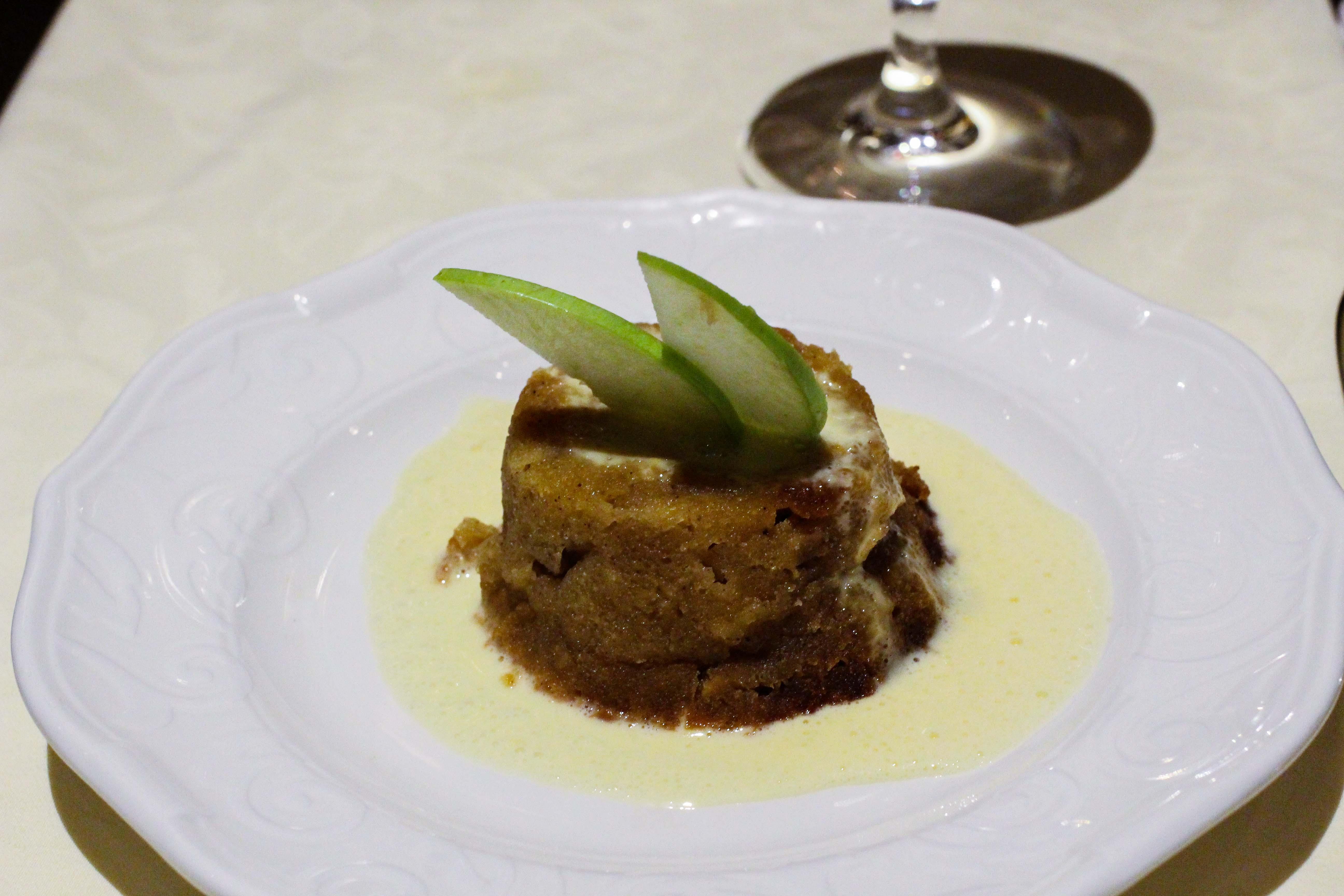 Warwick Hotel Doha Restaurant italienisch warmer Apfelkuchen Luxushotel 5 Sterne Hotel Qatar Reiseblog