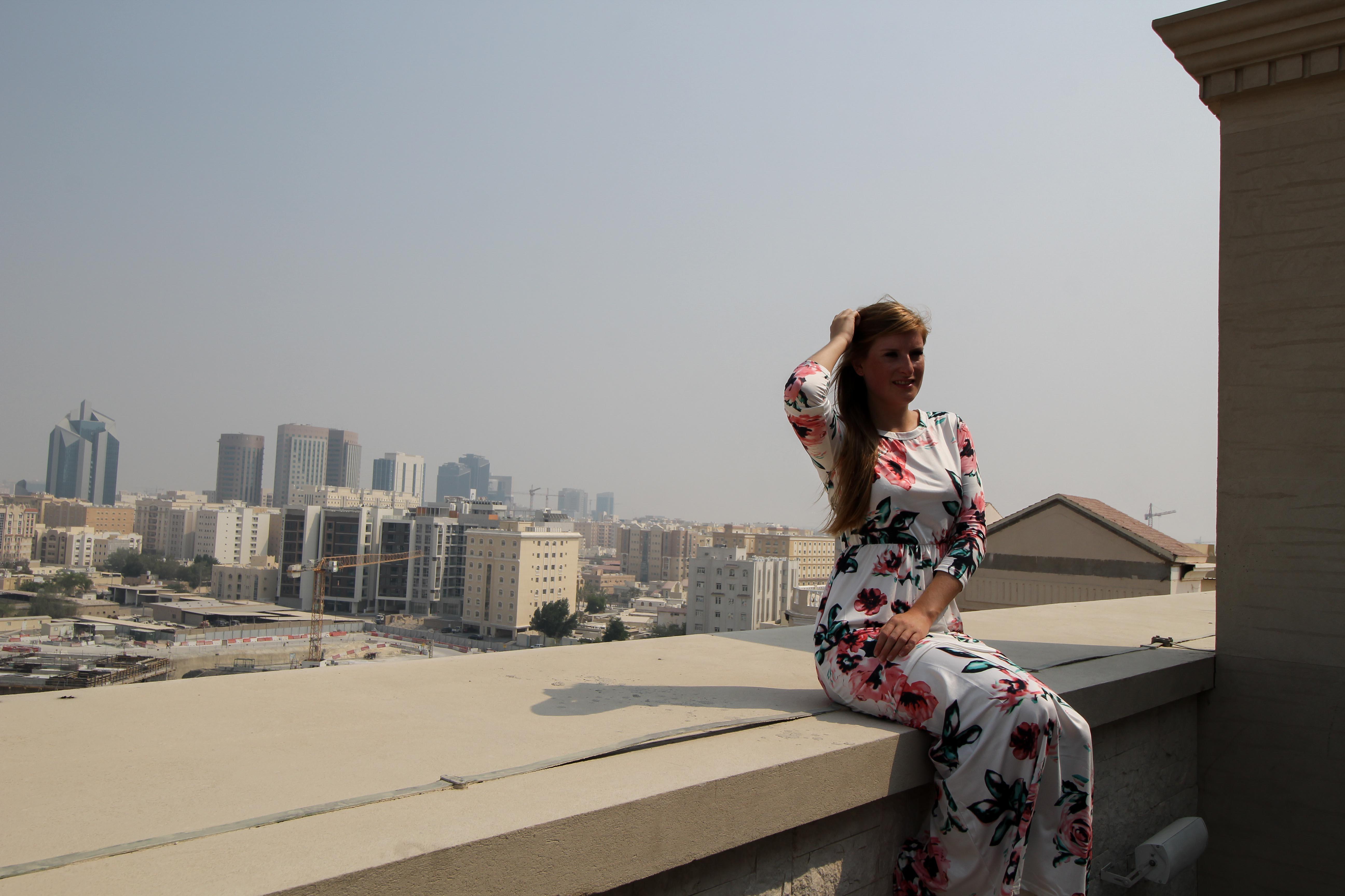 Warwick Hotel Doha Rooftop Skyline Doha Luxushotel 5 Sterne Hotel Qatar Reiseblog