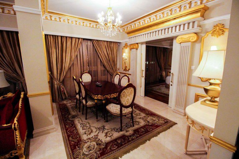 Warwick Hotel Doha Royal Suite Luxushotel 5 Sterne Hotel Qatar Reiseblog