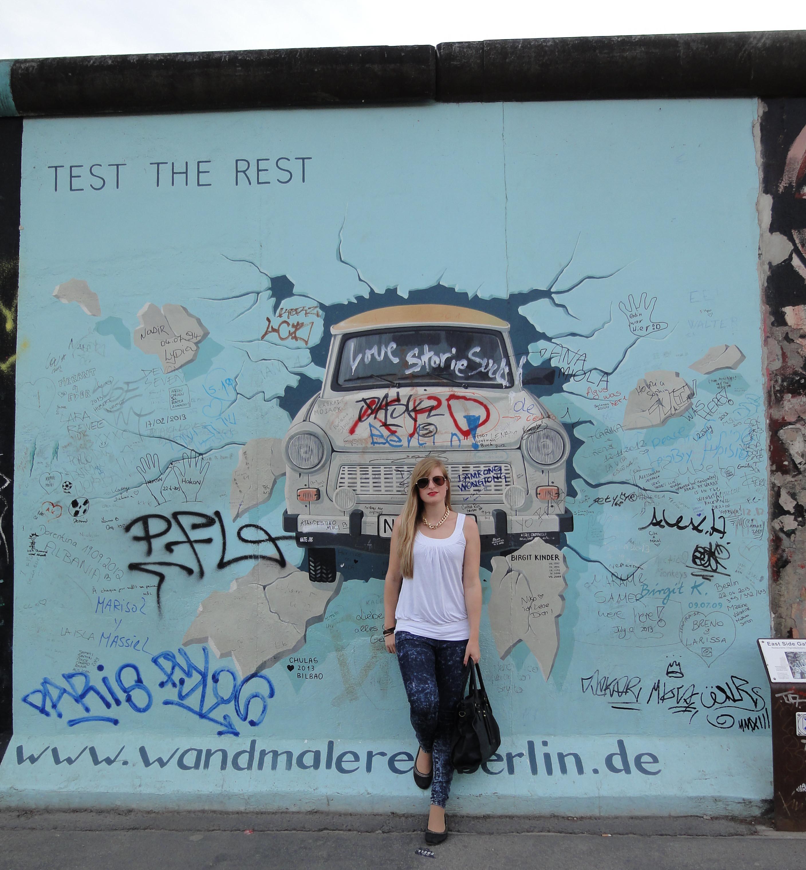 Berlin Sehenswürdigkeiten Reiseblog Berlin Eindrücke Brinisfashionbook Berliner Mauer East Side Gallery
