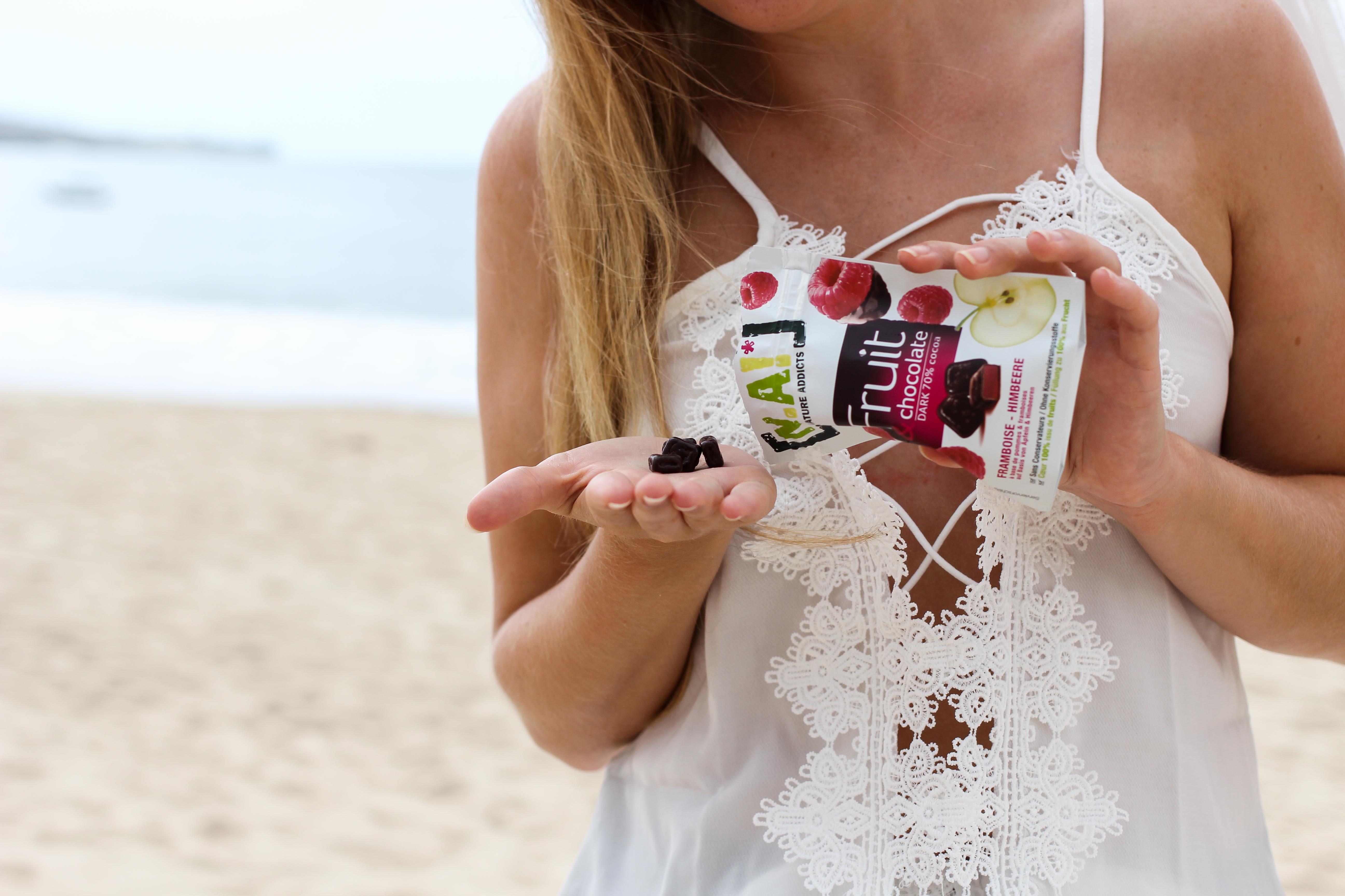 Nature Addicts N.A. Snacks Fruit Schokolade vegan glutenfrei ohne Zusatzstoffe Tipps fürs Handgepäck bei Flugreisen Reiseblog BrinisFashionBook 2