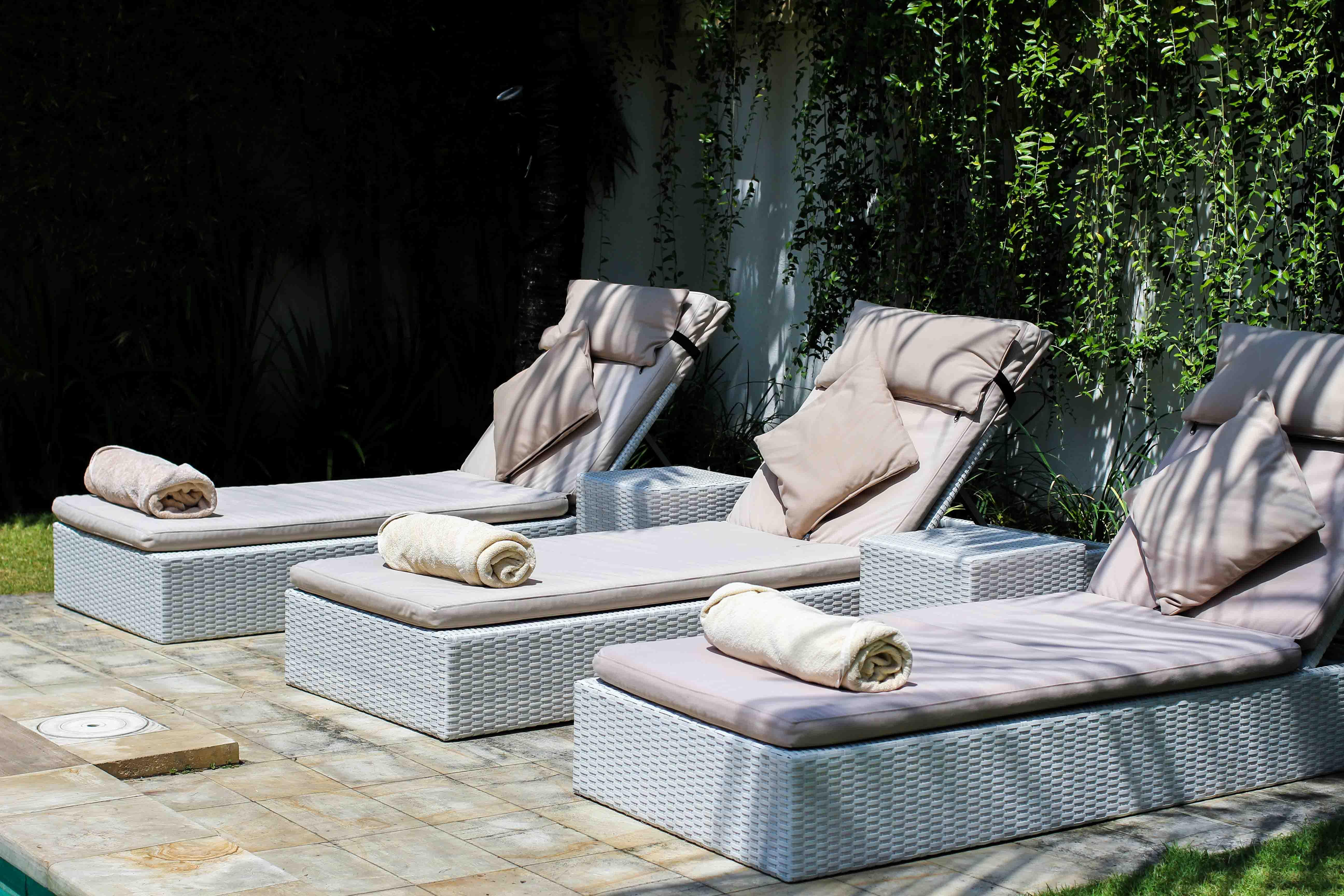 Sahana Villas Seminyak Poolvilla 3 Bedroom Seminyak Bali Luxusvilla mieten privater Pool Reiseblogger 3