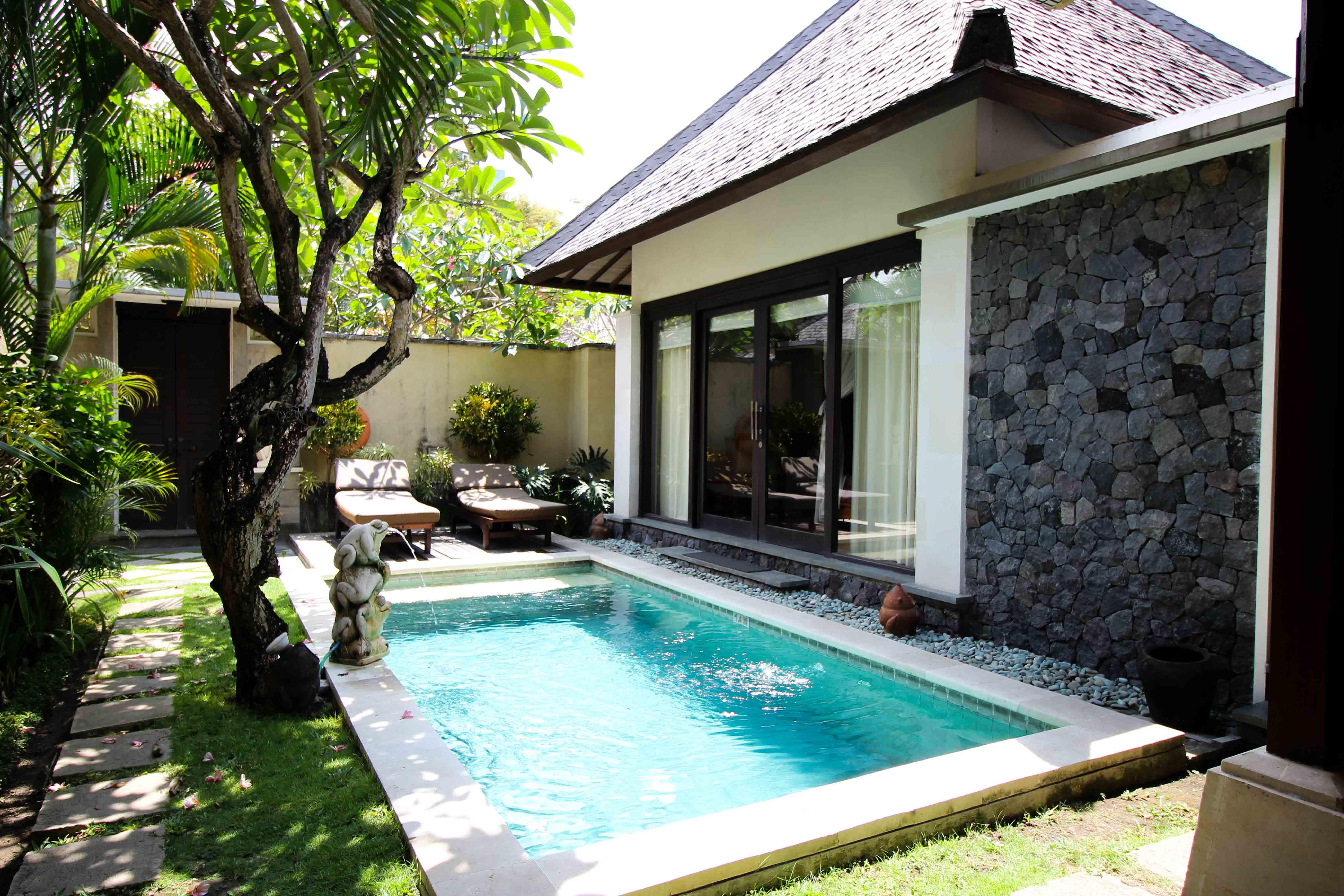 The Sanyas Suite Seminyak Bali private Pool Villa Bali Reiseblog Poolvilla 2