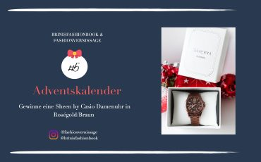 Adventskalender Blog Fashion Blog Deutschland Gewinne Sheen by Casio Damenuhr in Roségold Braun Gewinnspiel Geschenkidee Weihnachten 6