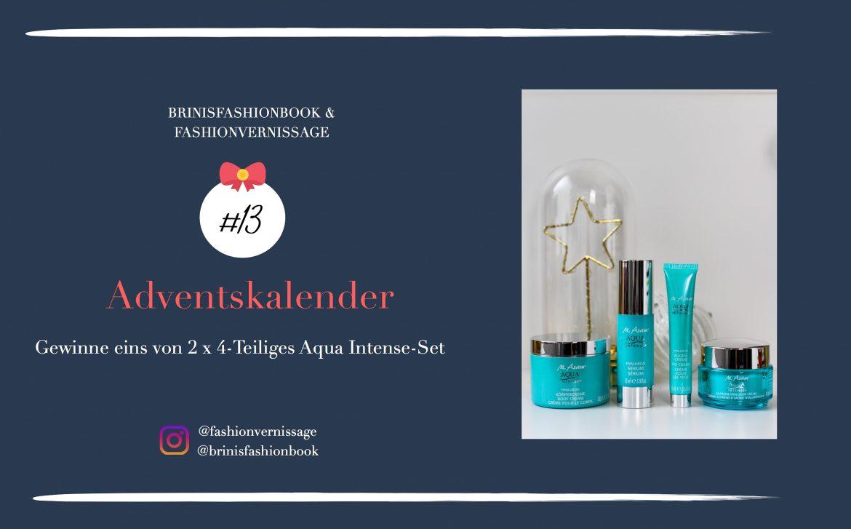 Adventskalender Blogger Deutschland 4-Teiliges Aqua Intense-Set Asambeauty Weihnachtsgeschenk Idee Beauty-Paket Gewinnspiel