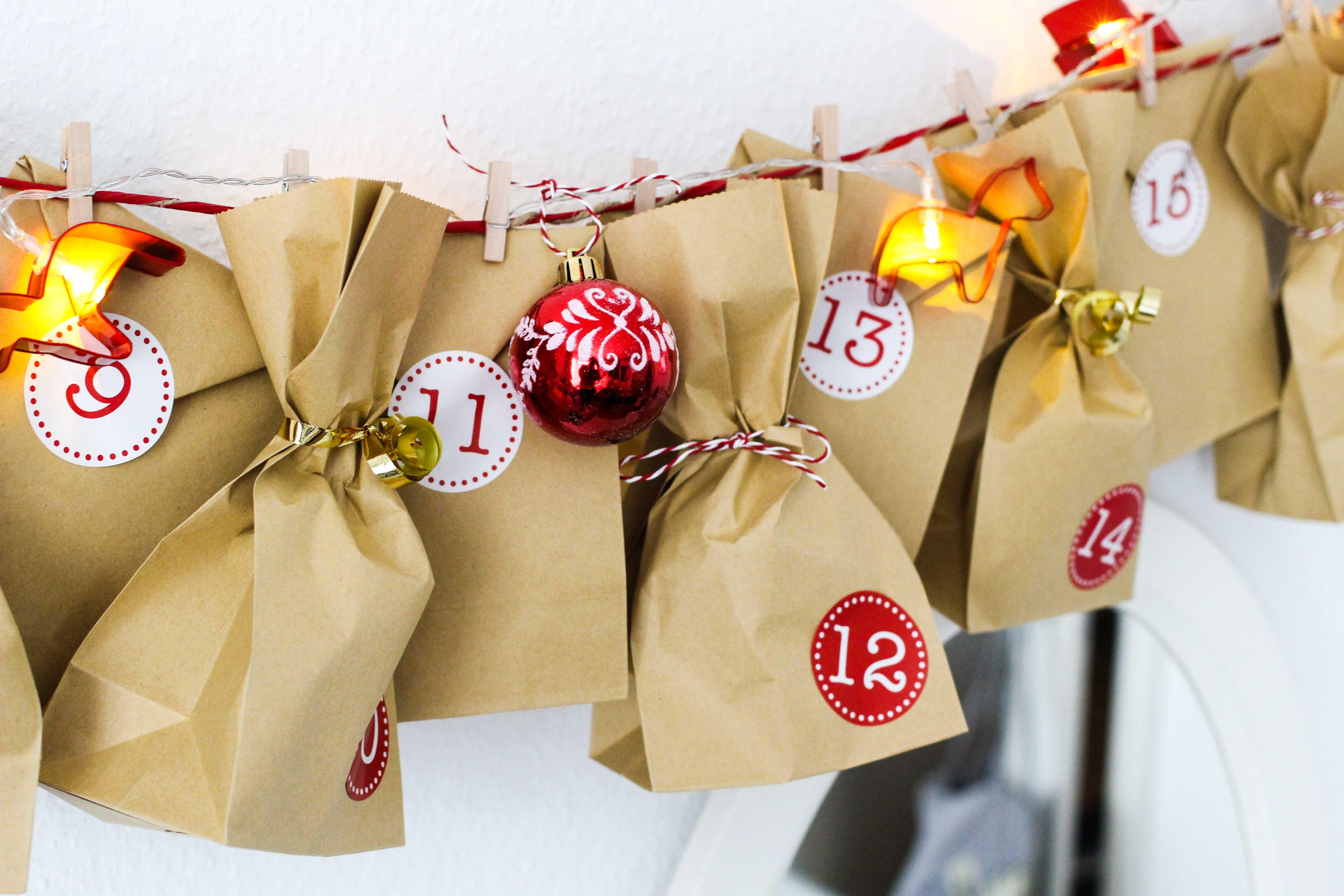 Adventskalender DIY Adventskalender selber machen Geschenke kreativ einpacken Weihnachten Blog 3