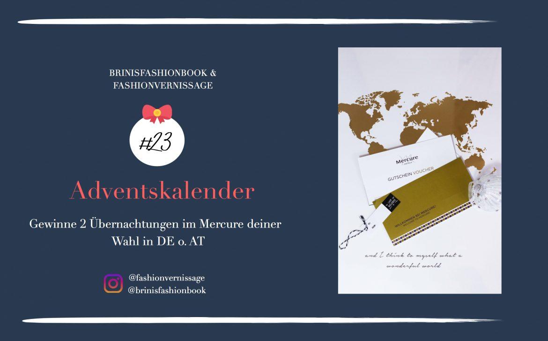 Adventskalender Türchen Gewinne 2 Übernachtungen im Mercure Hotels Gutschein Reiseblog 3