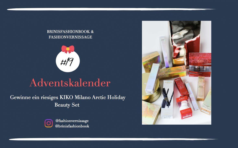 Blogger Adventskalender KIKO Milano Arctic Holiday Beauty Set Wimperntusche Lippenstift Beauty Blogger 1