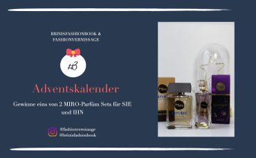 Blogger Adventskalender MIRO Parfüm Set sie ihn gewinnen Gewinnspiel Miro Damenduft Glamlight Miro Herrenduft Explore 1