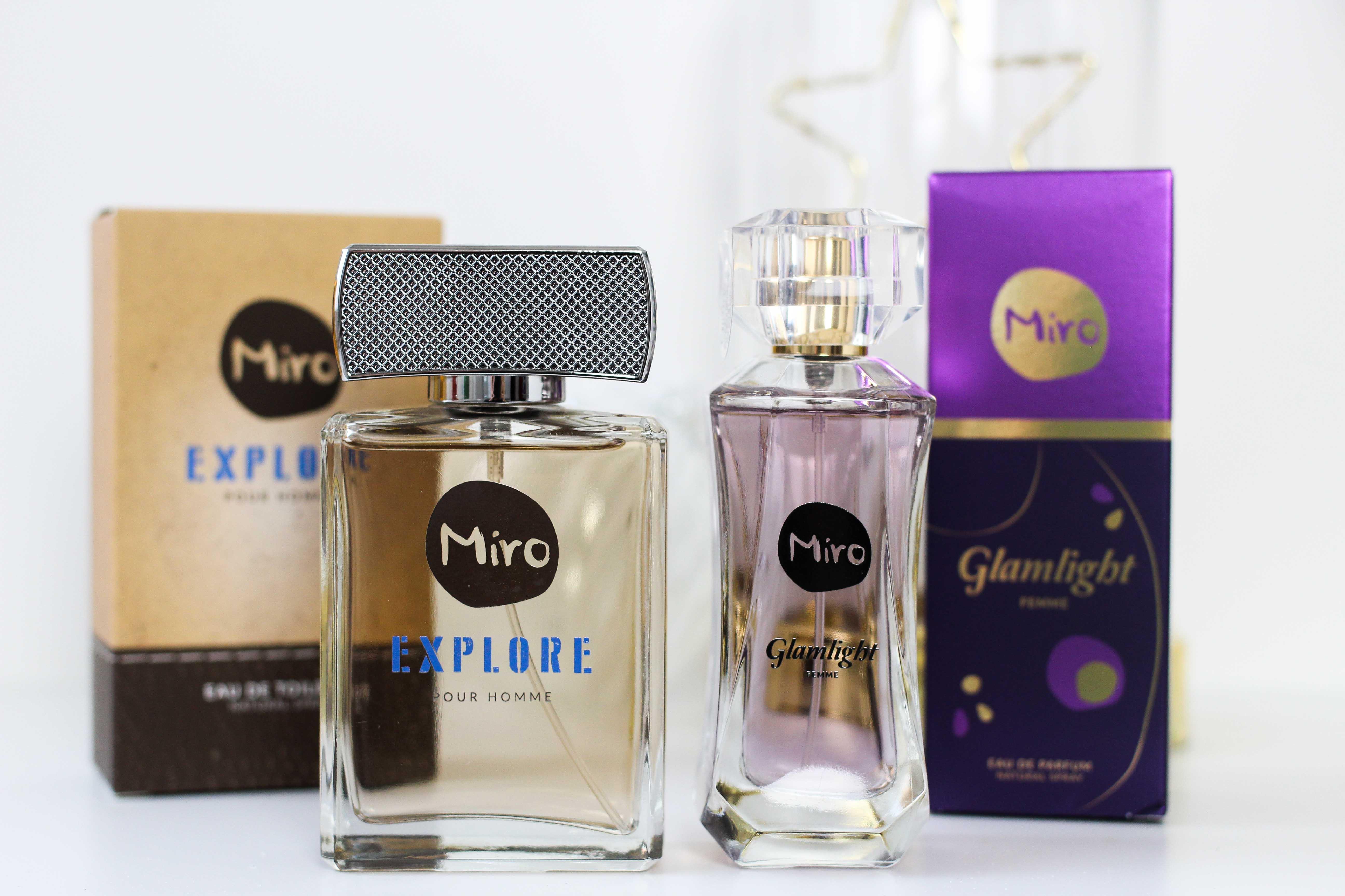 Blogger Adventskalender MIRO Parfüm Set sie ihn gewinnen Gewinnspiel Miro Damenduft Glamlight Miro Herrenduft Explore 4