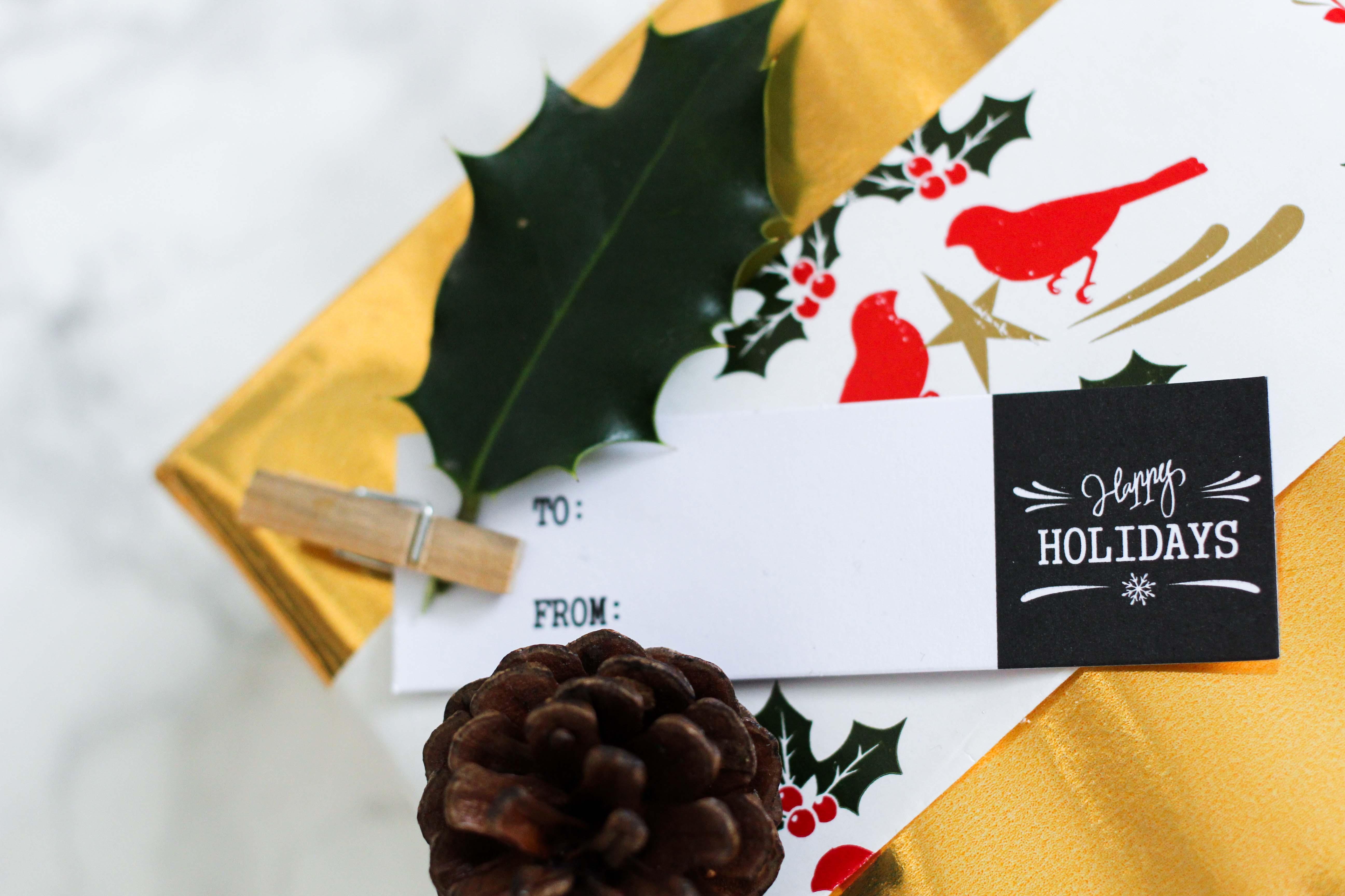 Geschenke kreativ einpacken Weihnachten Kreativer Christmas Gift Wrapping Guide Clas Ohlson Geschenkanhänger