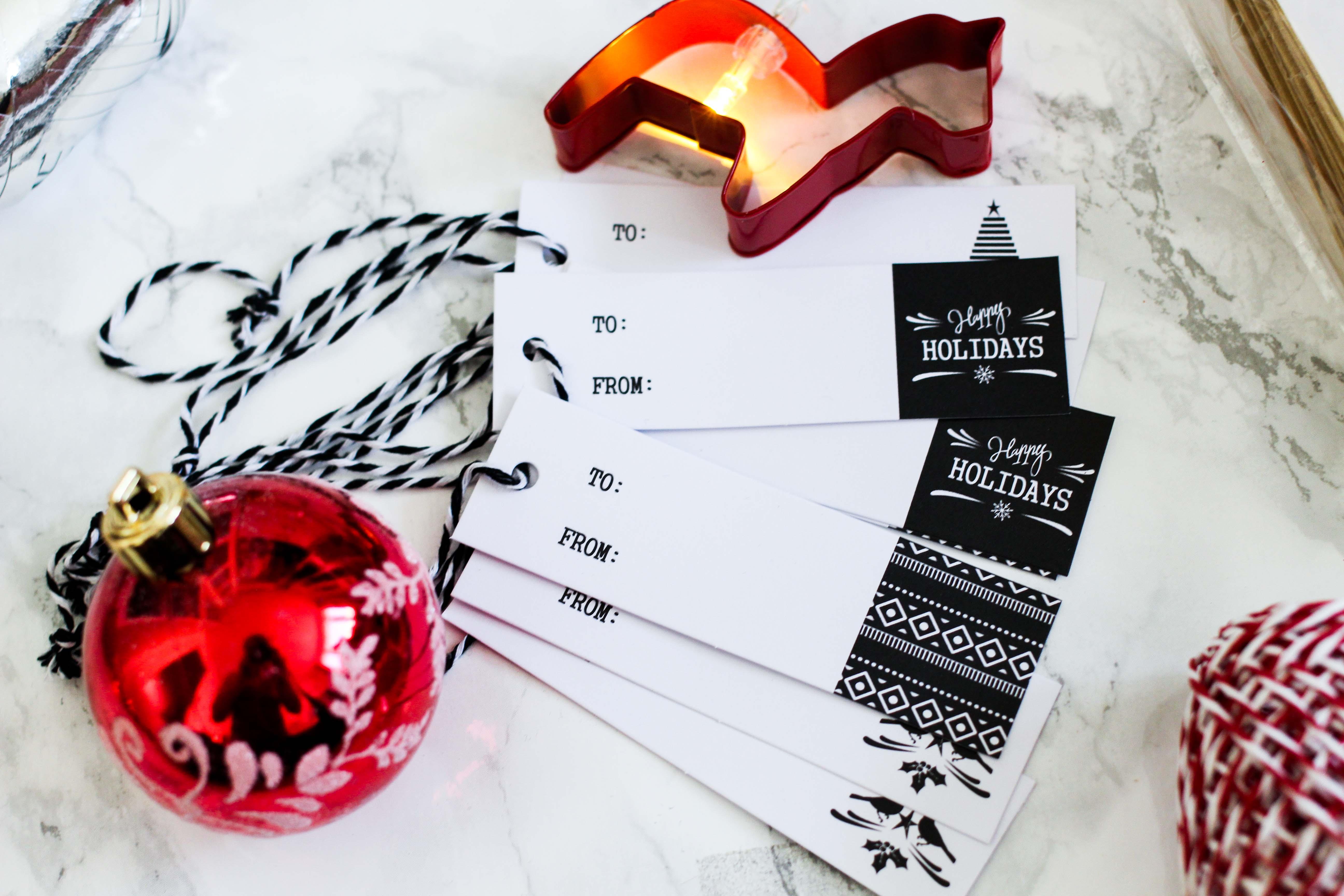Geschenke kreativ einpacken Weihnachten Kreativer Christmas Gift Wrapping Guide Clas Ohlson Geschenkpapier Anhänger von für