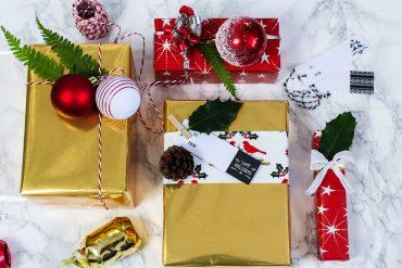 Geschenke kreativ einpacken Weihnachten Kreativer Christmas Gift Wrapping Guide Clas Ohlson Geschenkpapier Geschenk Ideen Dekoration 2