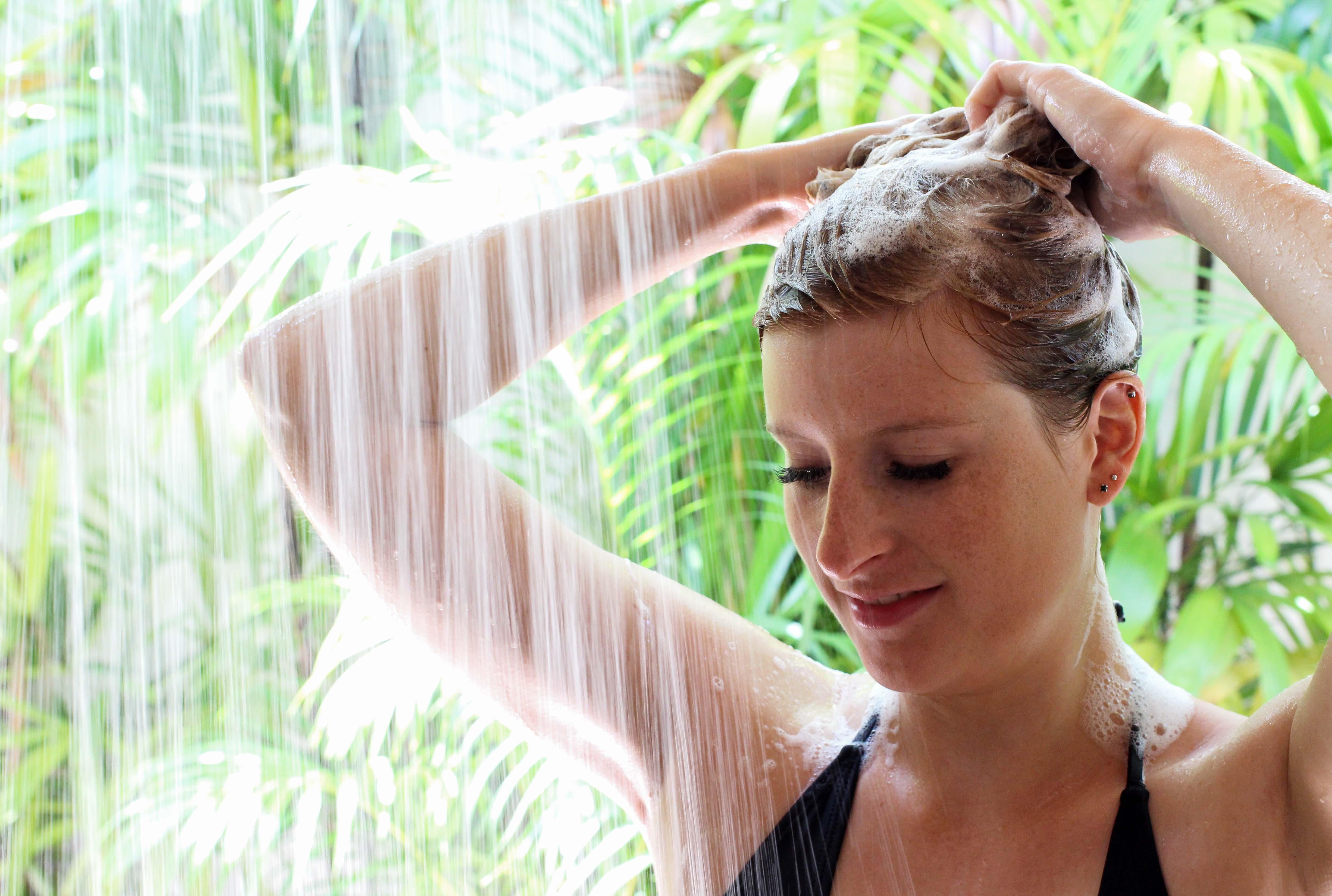 Haarpflege Halier Fortesse Shampoo Conditioner Test anwendung gesundes kräftiges Haar Beauty Blog Bali