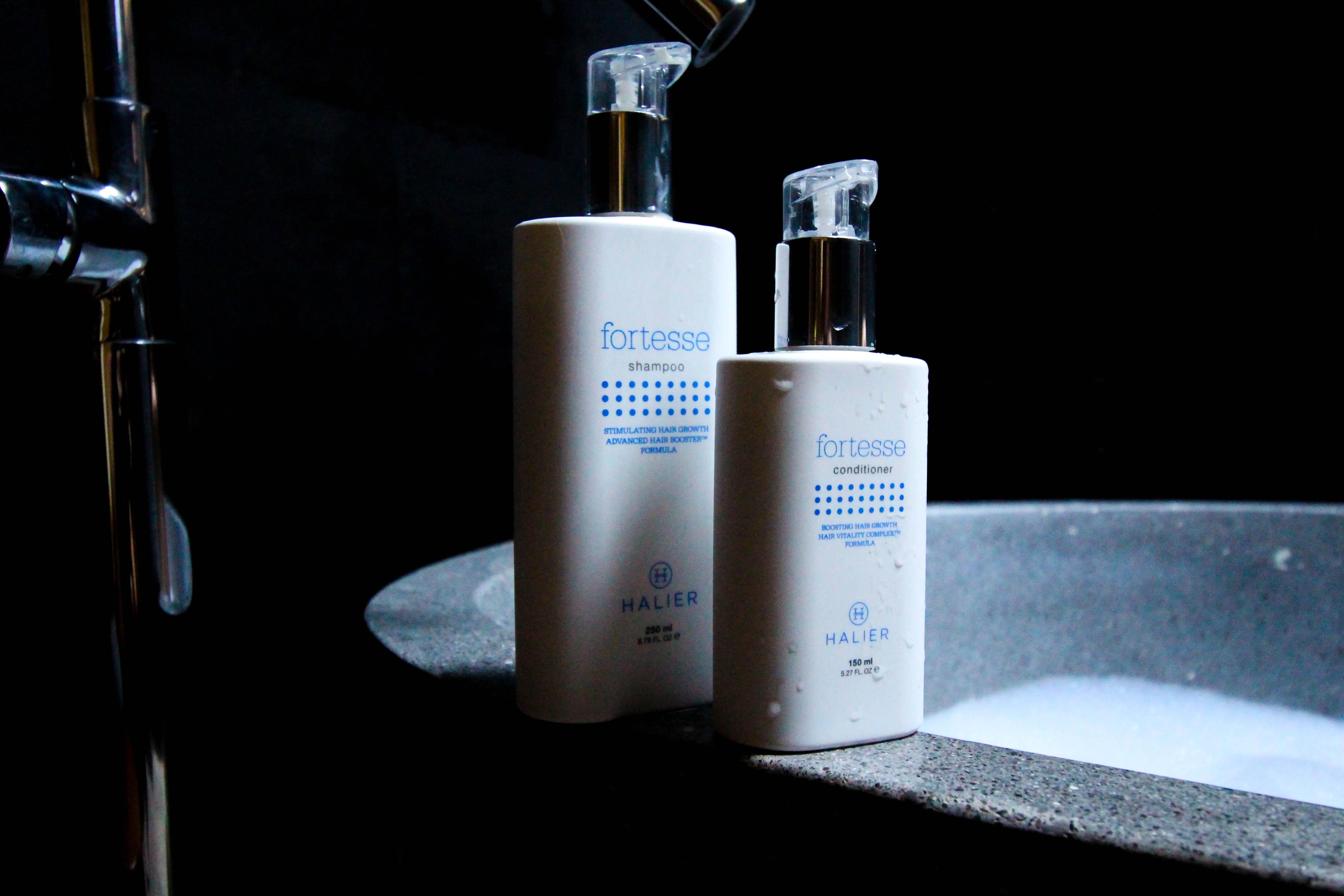 Haarpflege Halier Fortesse Shampoo Conditioner Test gesundes kräftiges Haar Beauty Blog Bali 3