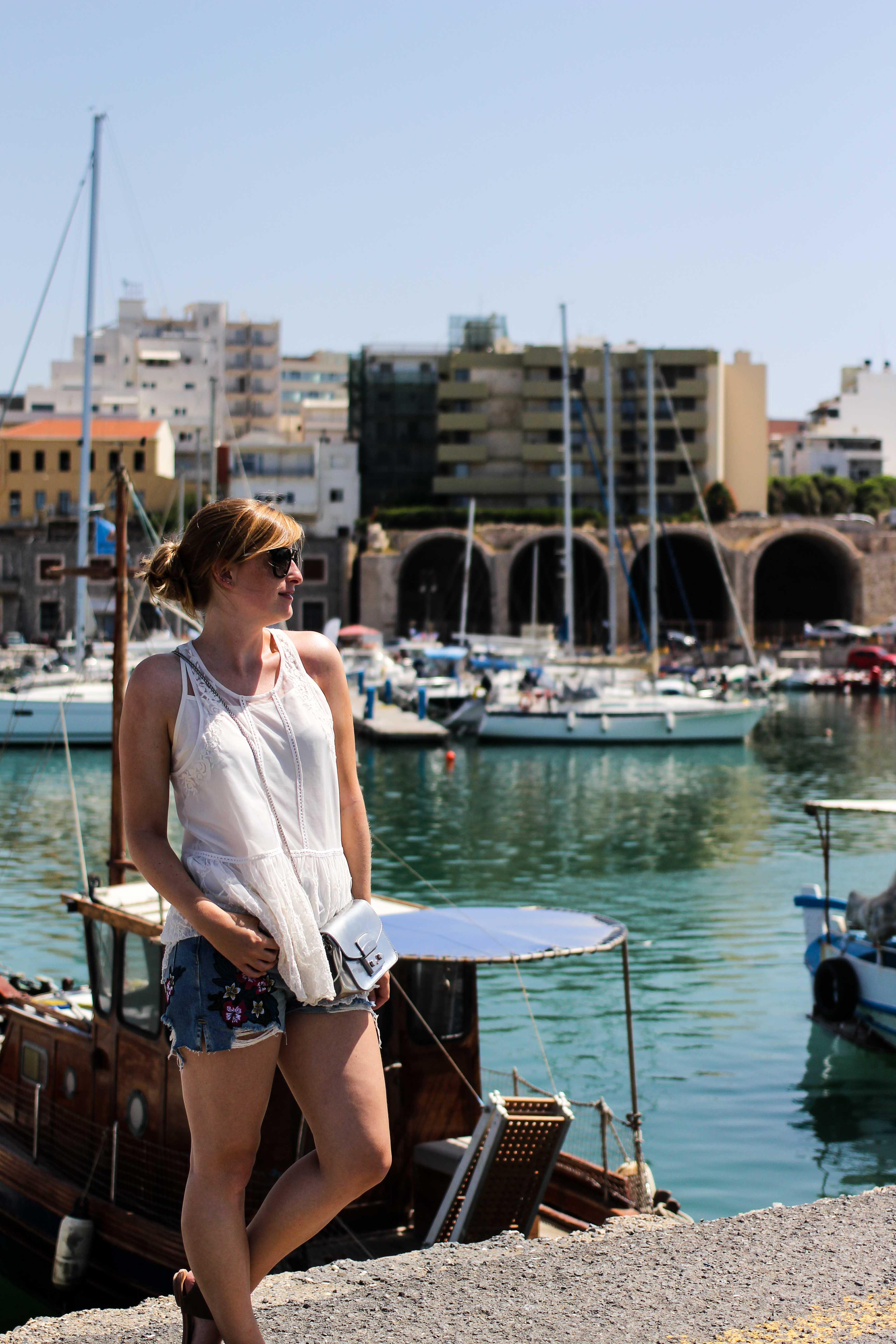 Top Kreta Sightseeing Kreta Sehenswürdigkeiten für einen Tagesausflug Heraklion Reiseblog venezianischer Hafen BrinisFashionBook