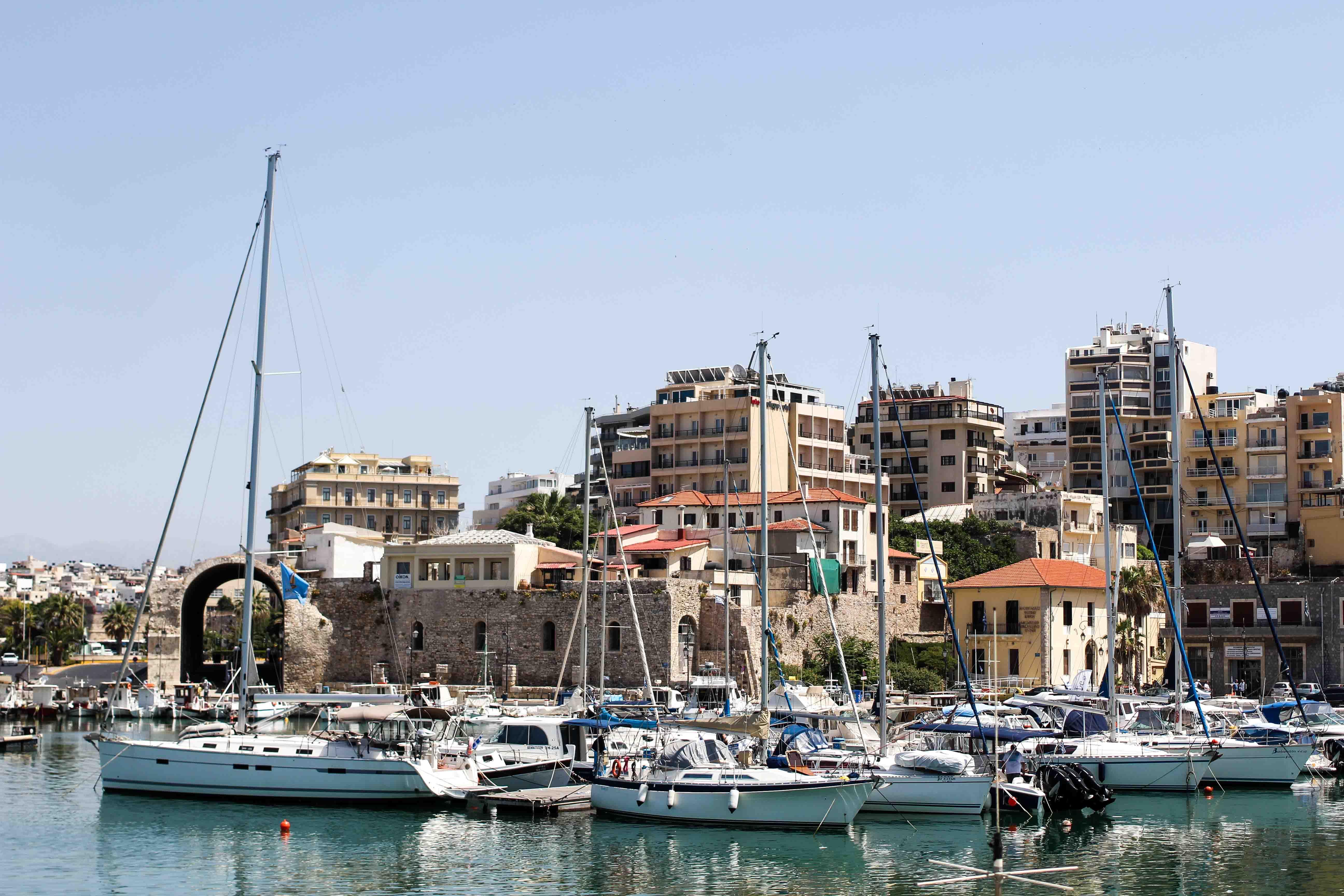 Top Kreta Sightseeing Kreta Sehenswürdigkeiten für einen Tagesausflug Heraklion Reiseblog venezianischer Hafen