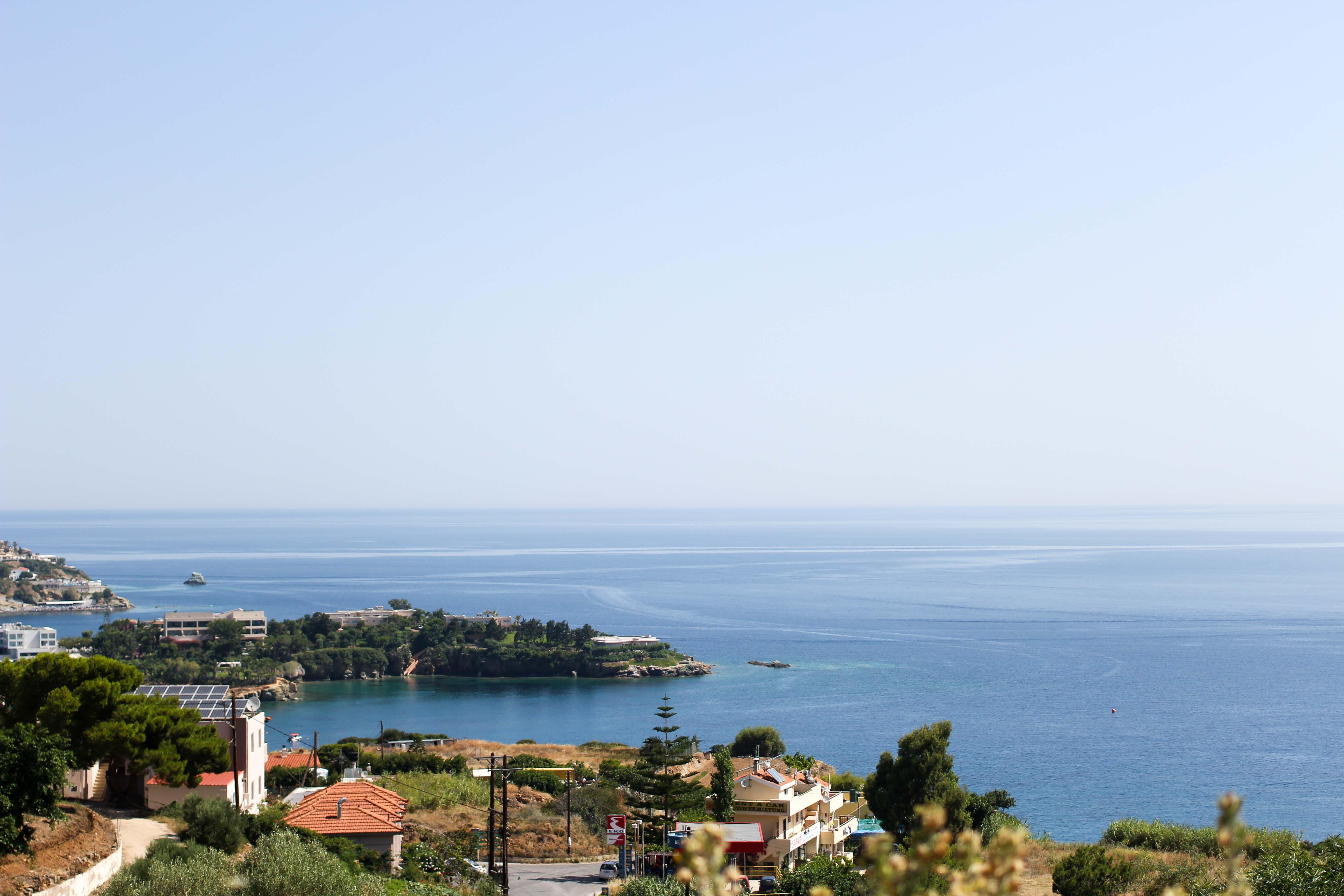 Top Kreta Sightseeing Kreta Sehenswürdigkeiten für einen Tagesausflug Meer Klippe Ausflug Mietwagen Reiseblog
