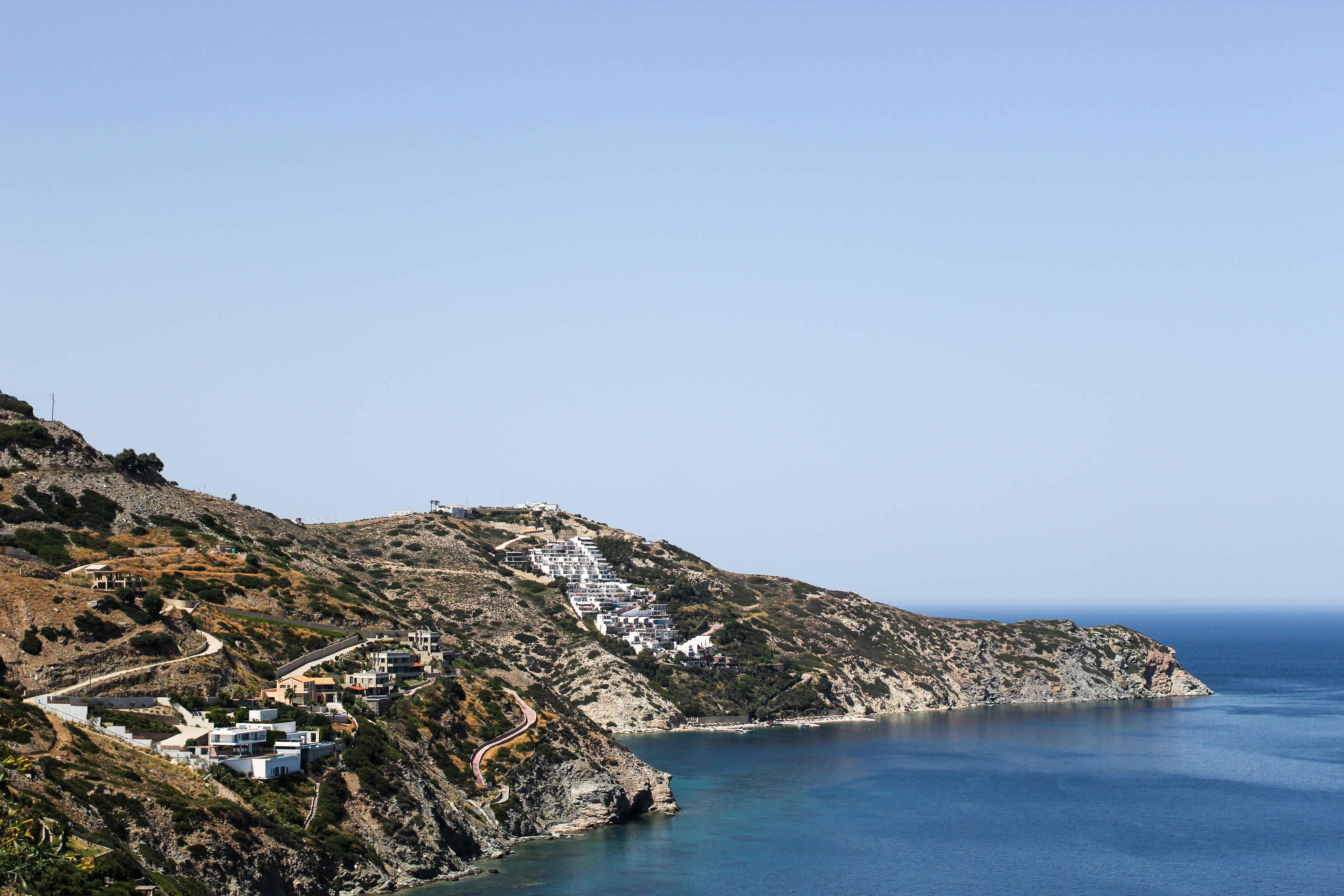 Top Kreta Sightseeing Kreta Sehenswürdigkeiten für einen Tagesausflug Meer Klippe Ausflug Mietwagen blog
