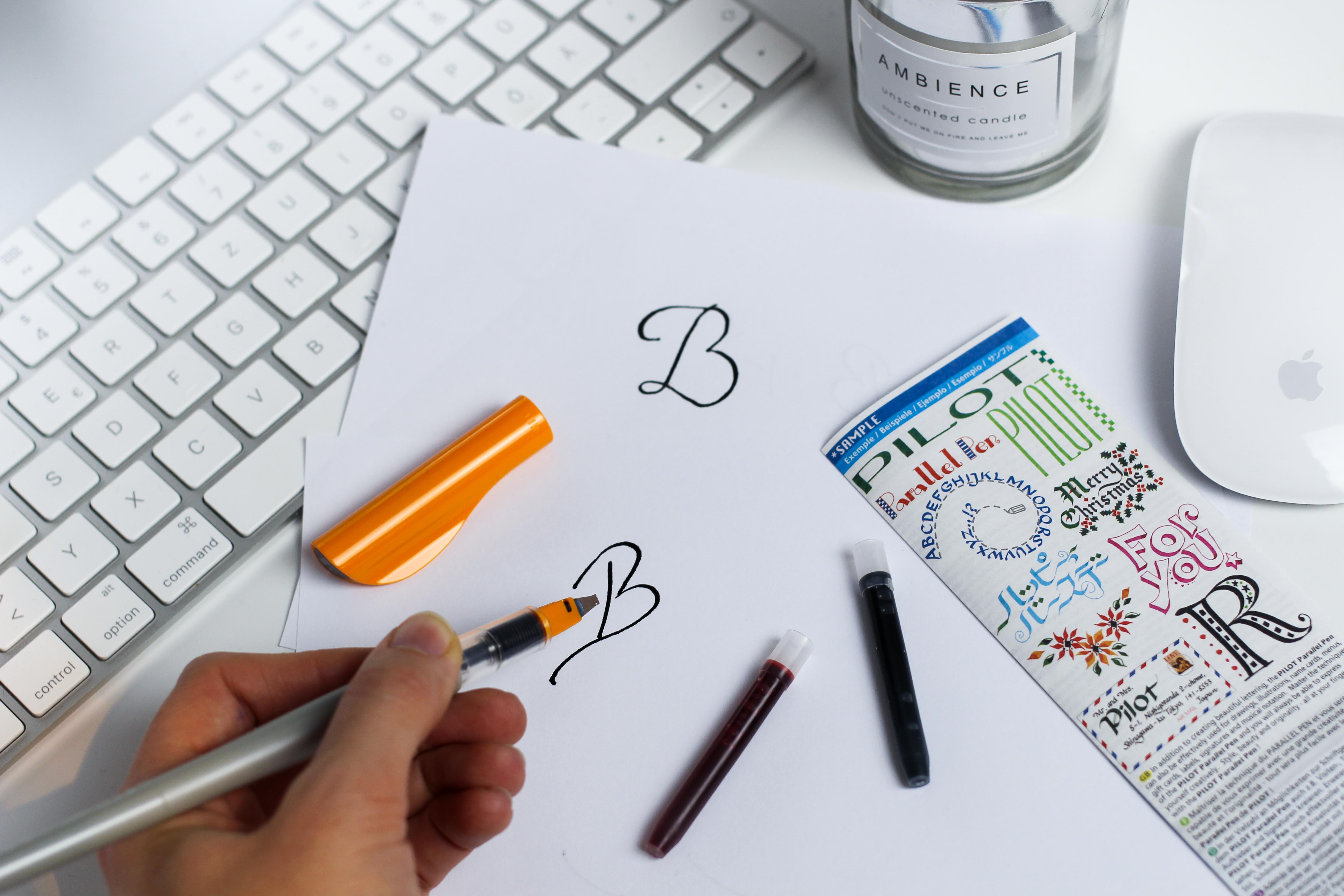 Blogger Adventskalender Kalligrafie-Füller Pilot Pen Lettering Blog Organizer kreativ 2