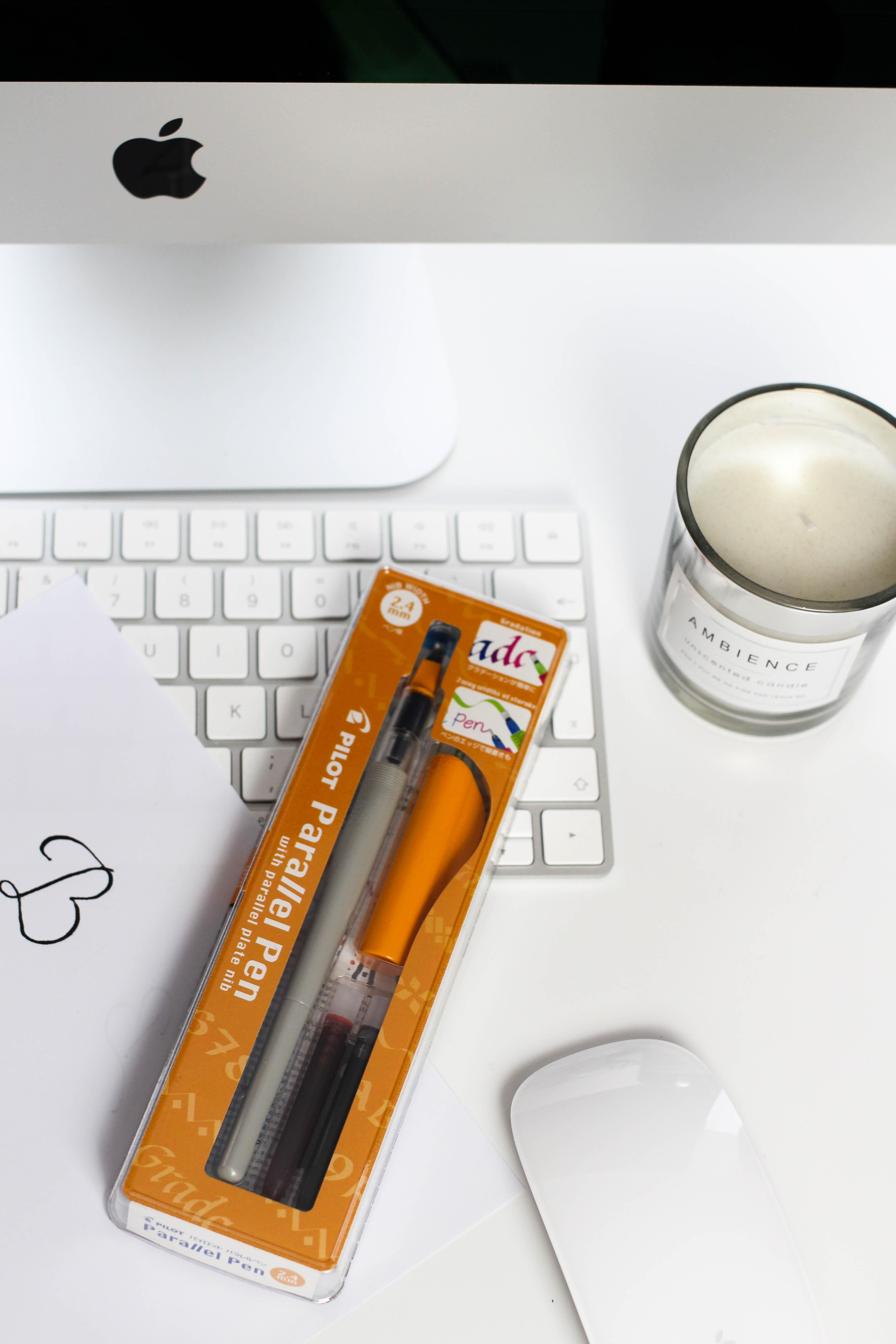 Blogger Adventskalender Kalligrafie-Füller Pilot Pen Lettering Blog Organizer kreativ