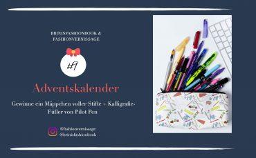 Blogger Adventskalender Mäppchen Stifte Pilot Pen Lettering Bleistift Textmarker Gelschreiber Blog Organizer kreativ 4