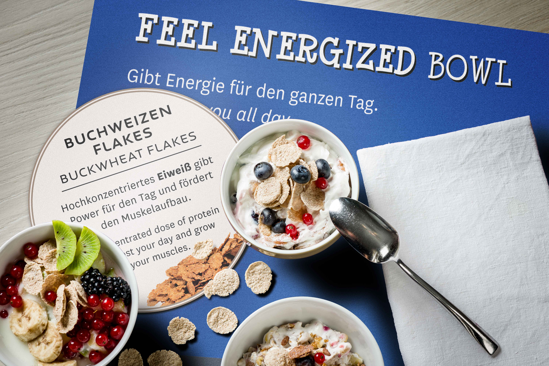 Blogger Adventskalender Novotel Köln Bowl Frühstück Protein Healthy gesundes Frühstück