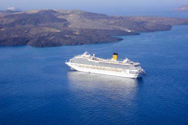 wichtigsten Kreuzfahrten Tipps Anfänger Reisegepäck Tipps gegen Seekrankheit Übelkeit auf See Alle Tipps problemlose Kreuzfahrt Costa Magica Santorin