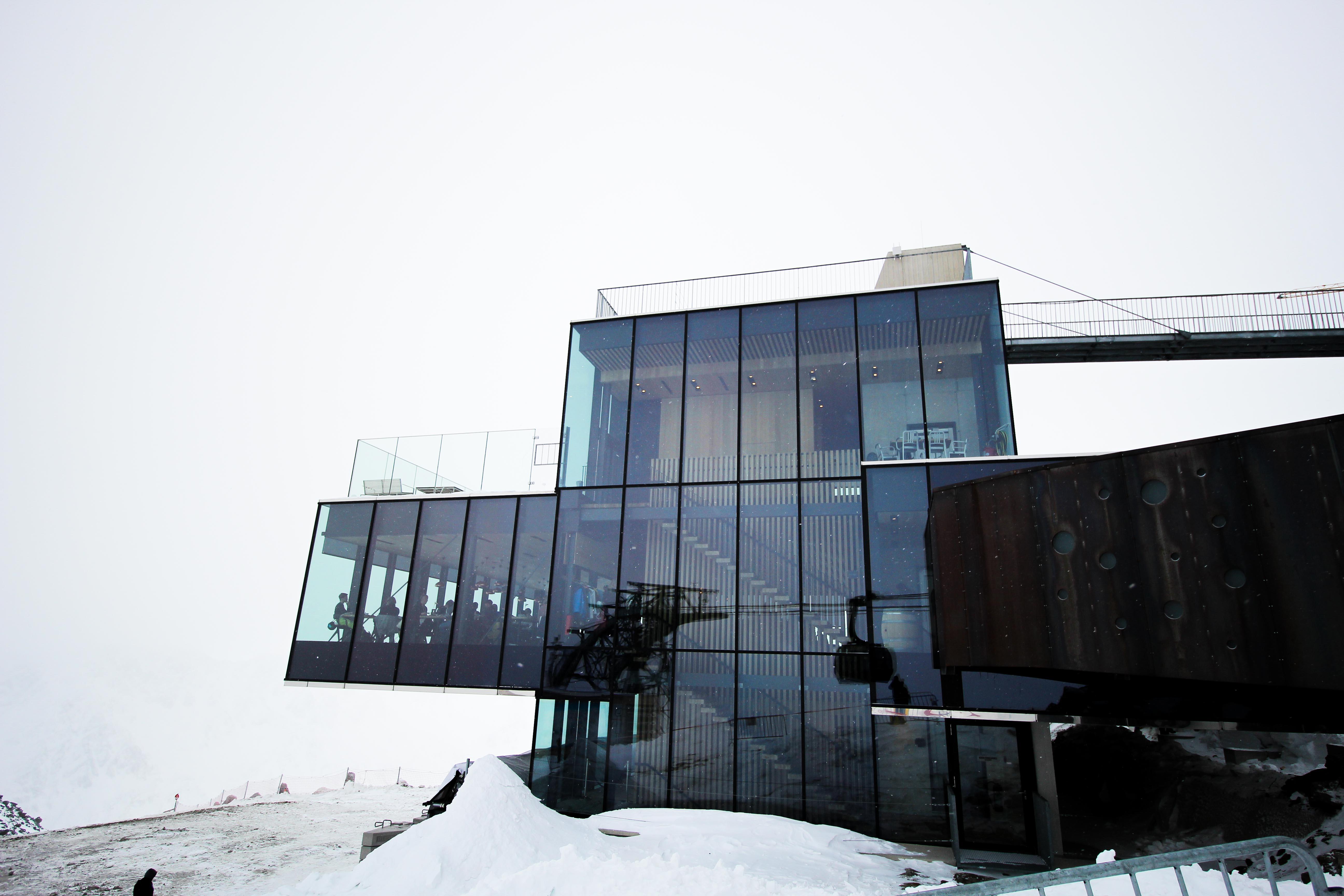 Gourmet-Restaurant iceQ Sölden Tirol Österreich James Bond Location Spectre 3000m Gaislachkogl Reiseblog