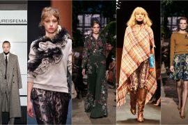 Berlin Fashion Week autumn winter 2018 Herbst und Winter Trends 2018 2019 Karaomuster Blumenprint Business woman