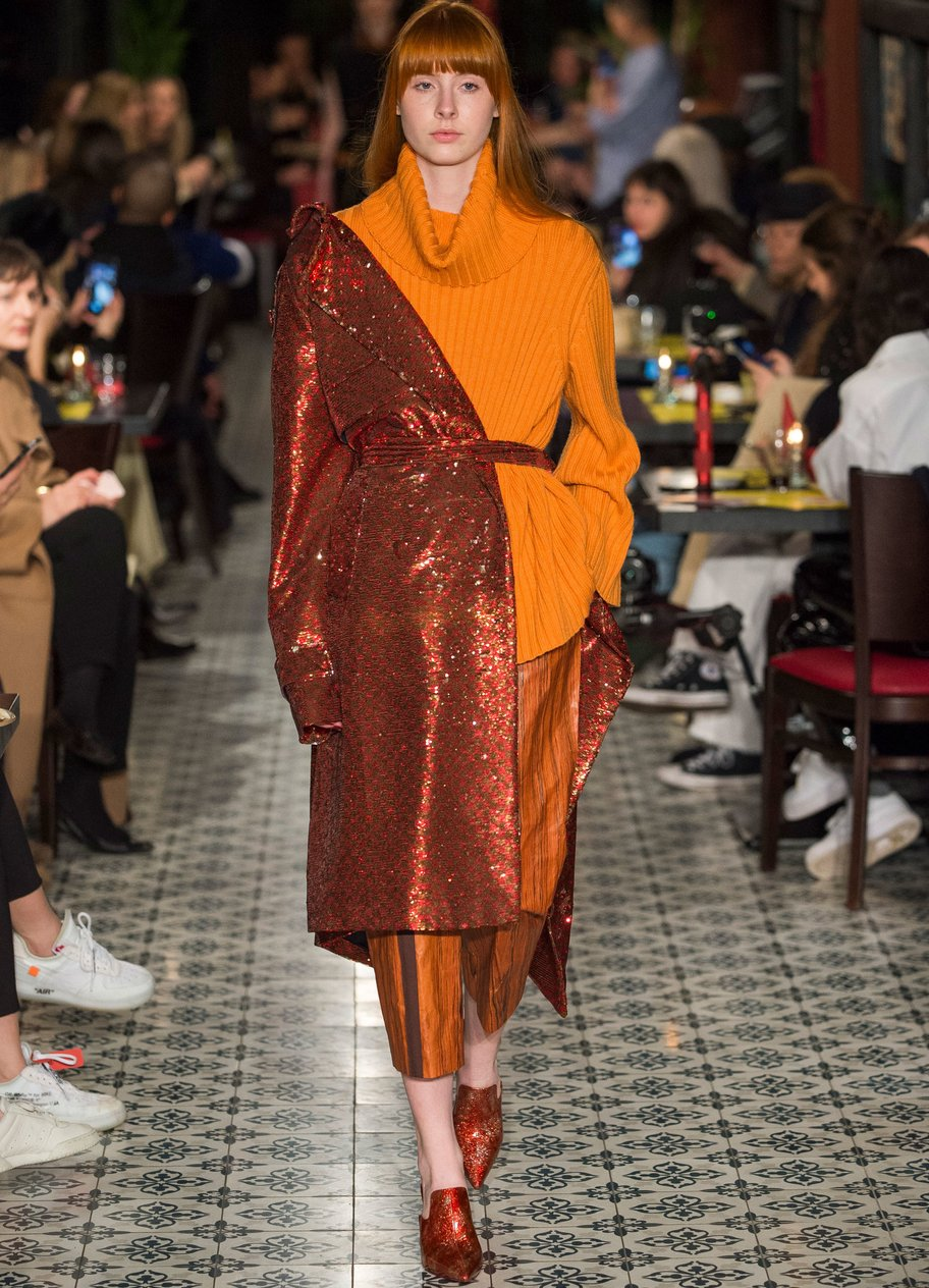 WilliamFan Berlin Fashion Week autumn winter 2018 Herbst und Winter Trends 2018 2019 Layering 4