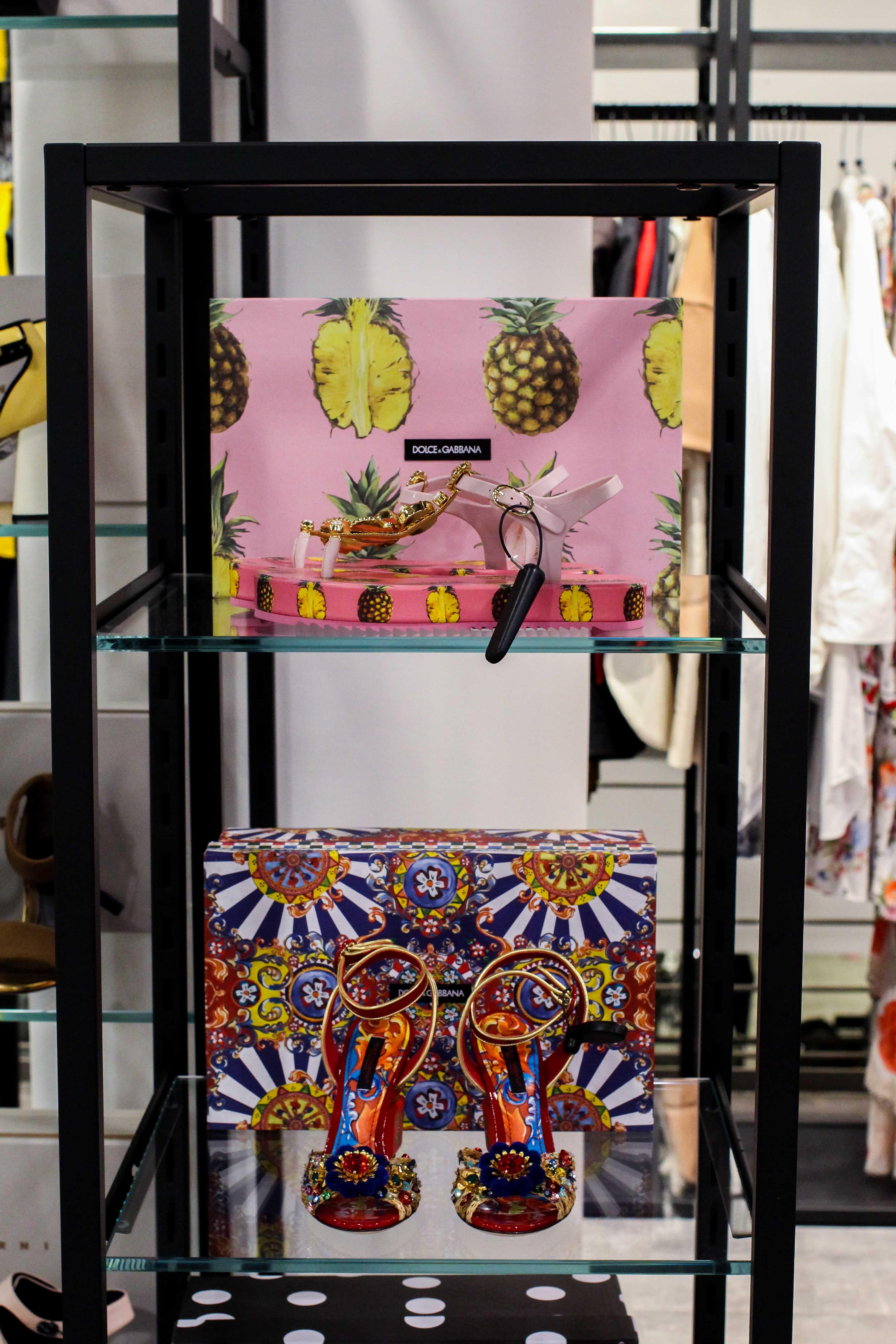 Dolce & Gabanna Heels Store Opening Saks OFF 5th Avenue Bonn Premium-Marken Outletpreis Designer Outlet Bonn Modeblog