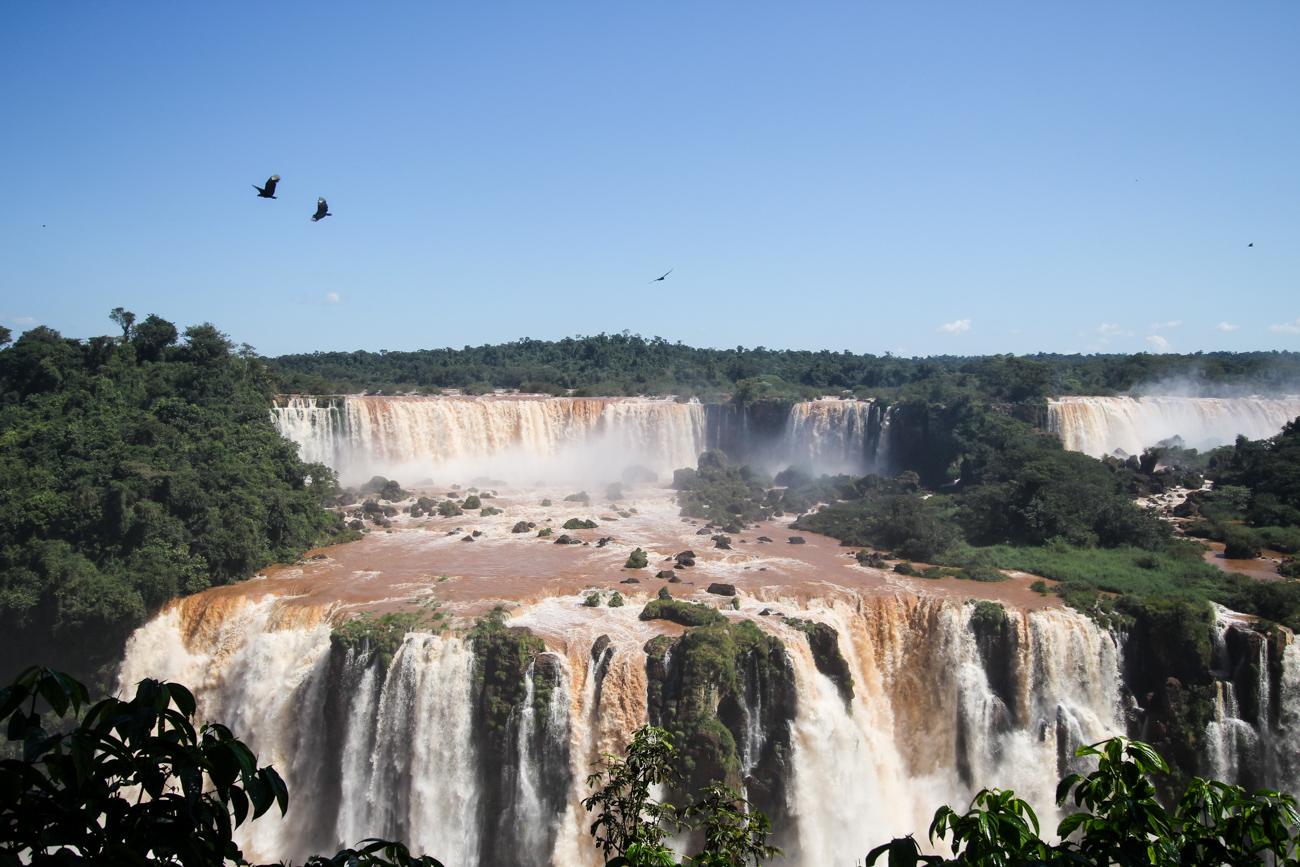 2 Wochen Rundreise Brasilien Top Brasilien Route Highlights Iguazú-Wasserfälle brasilianische Seite Reiseblog 2