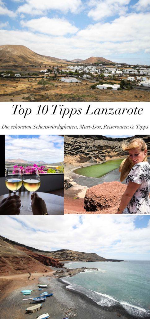 Top 10 Tipps Lanzarote Sehenswürdigkeiten Insider Tipps Lanzarote Spanien Reiseblog Deutschland weiße häuser Vulkanlandschaft Must do Sightseeing