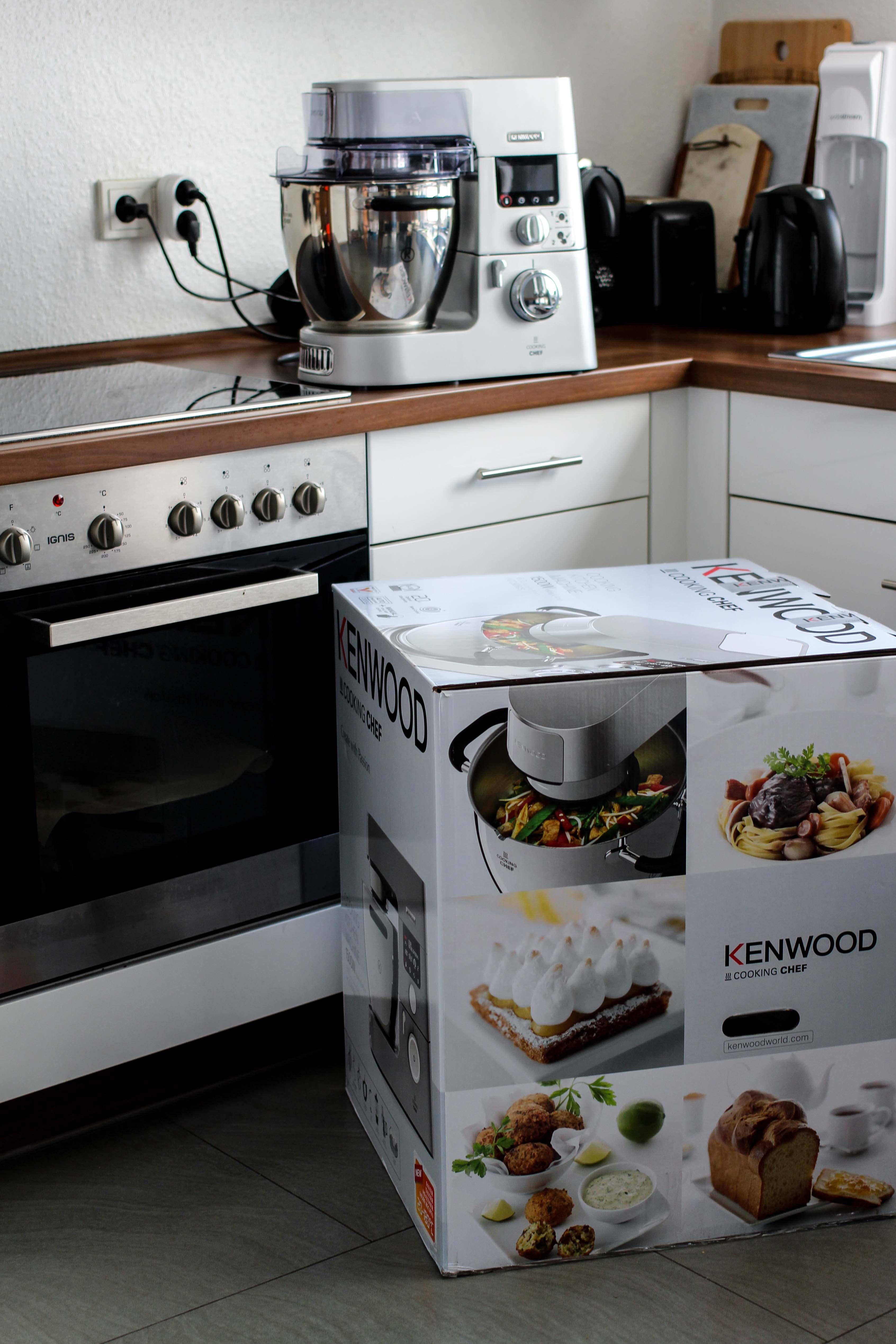 Amazon Kenwood Cooking Chef Gourmet KCC9060S Küchenmaschine Erfahrungsbericht Set Zubehör Test 2018