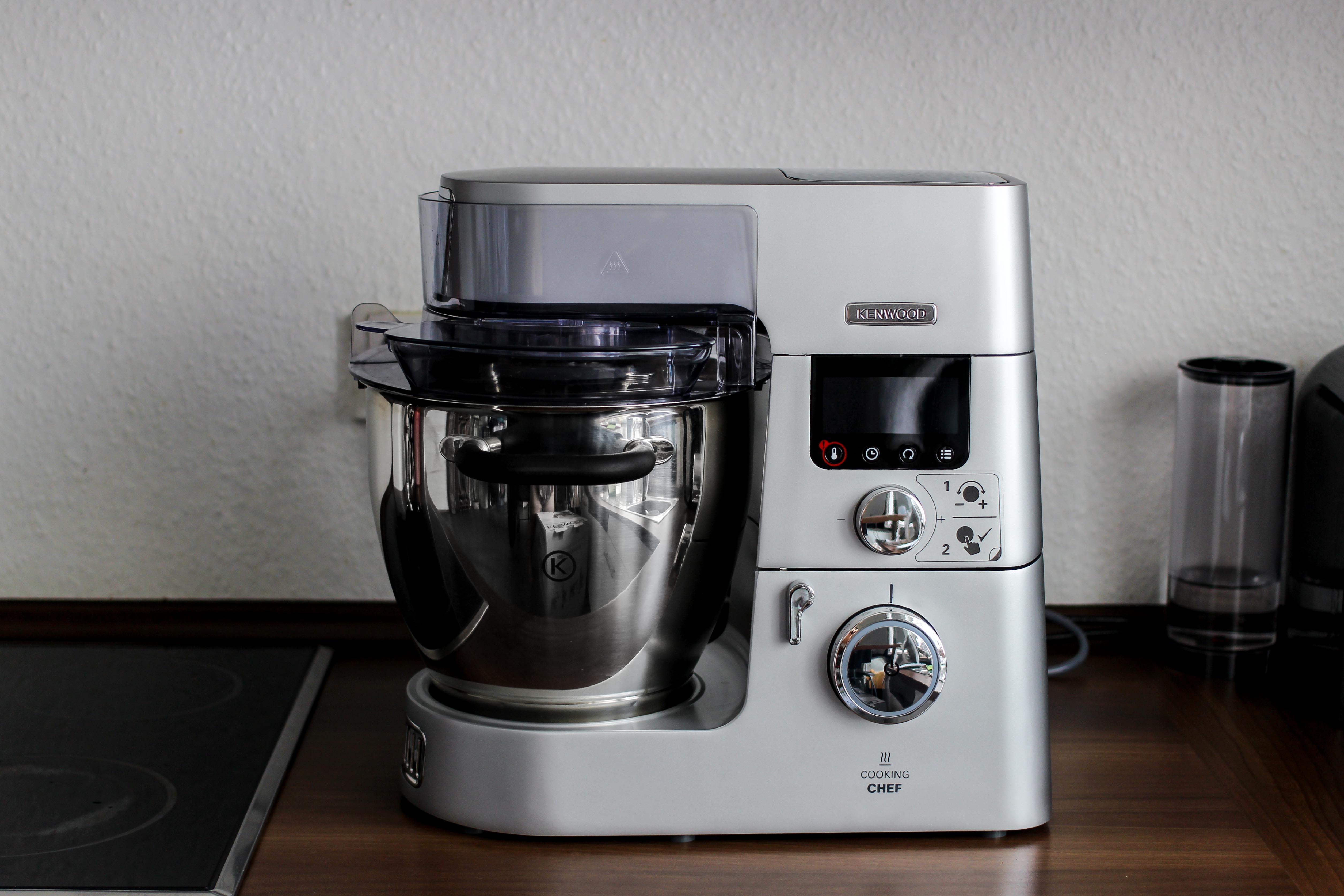 Amazon Kenwood Cooking Chef Gourmet KCC9060S Küchenmaschine Erfahrungsbericht Test 2018