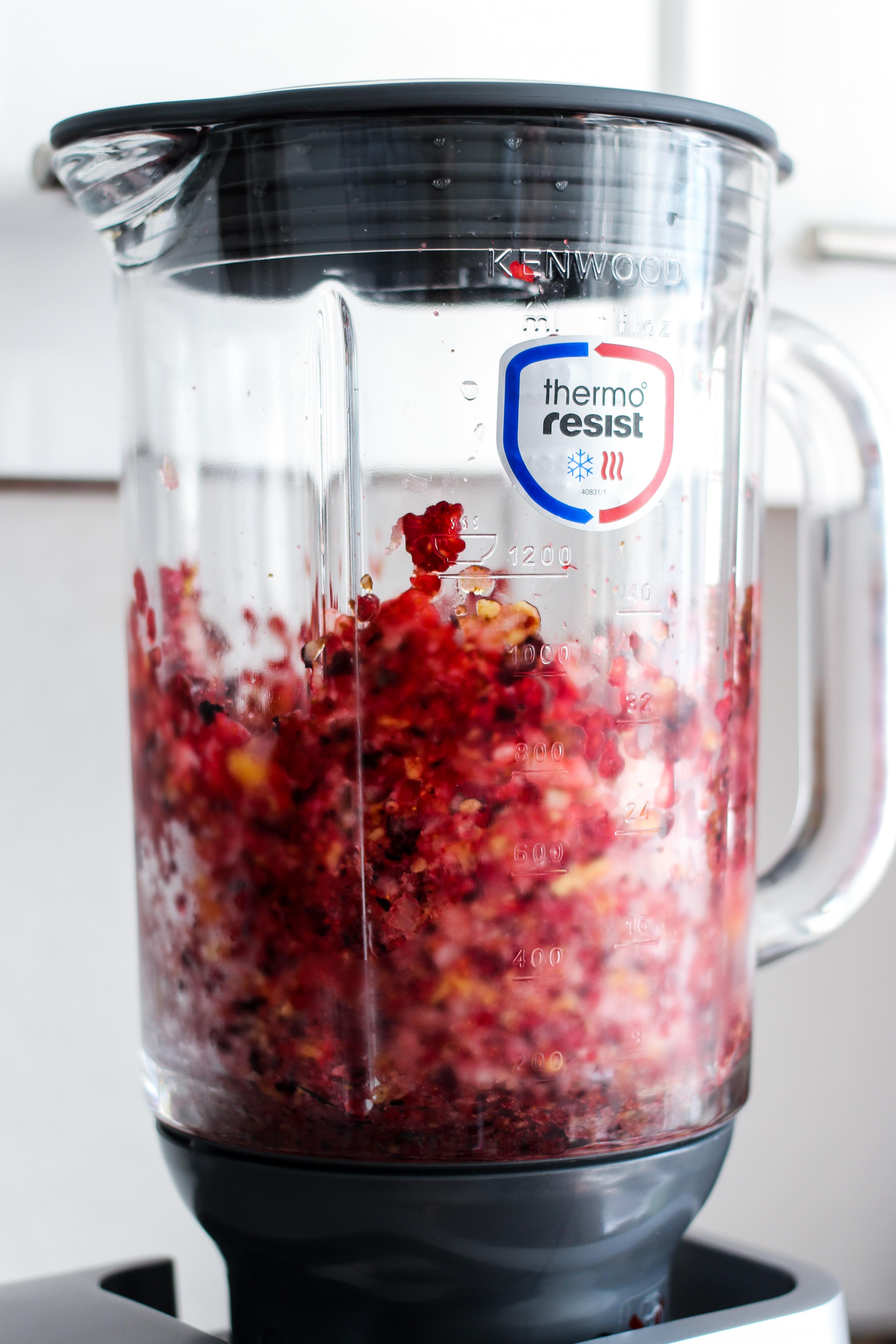 Amazon Kenwood Cooking Chef Gourmet KCC9060S Küchenmaschine ThermoResist Glas-Mixaufsatz Früchte Smoothie Erfahrungsbericht Test 2018 2