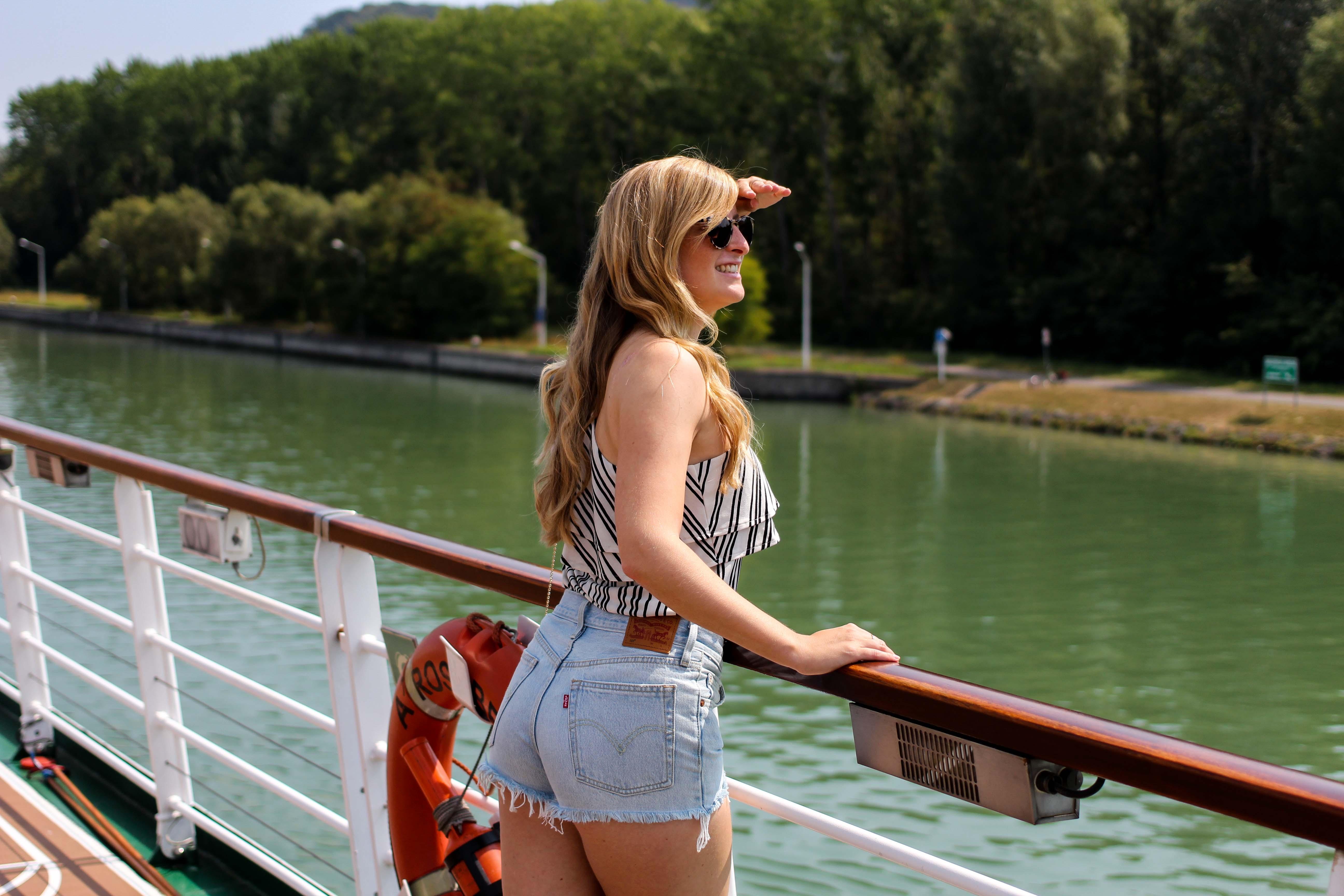 Donaukreuzfahrt A-Rosa Bella Flusskreuzfahrt Flusskreuzfahrtschiff Donau Engelhartszell Arosa Brinisfashionbook Reiseblogger 2