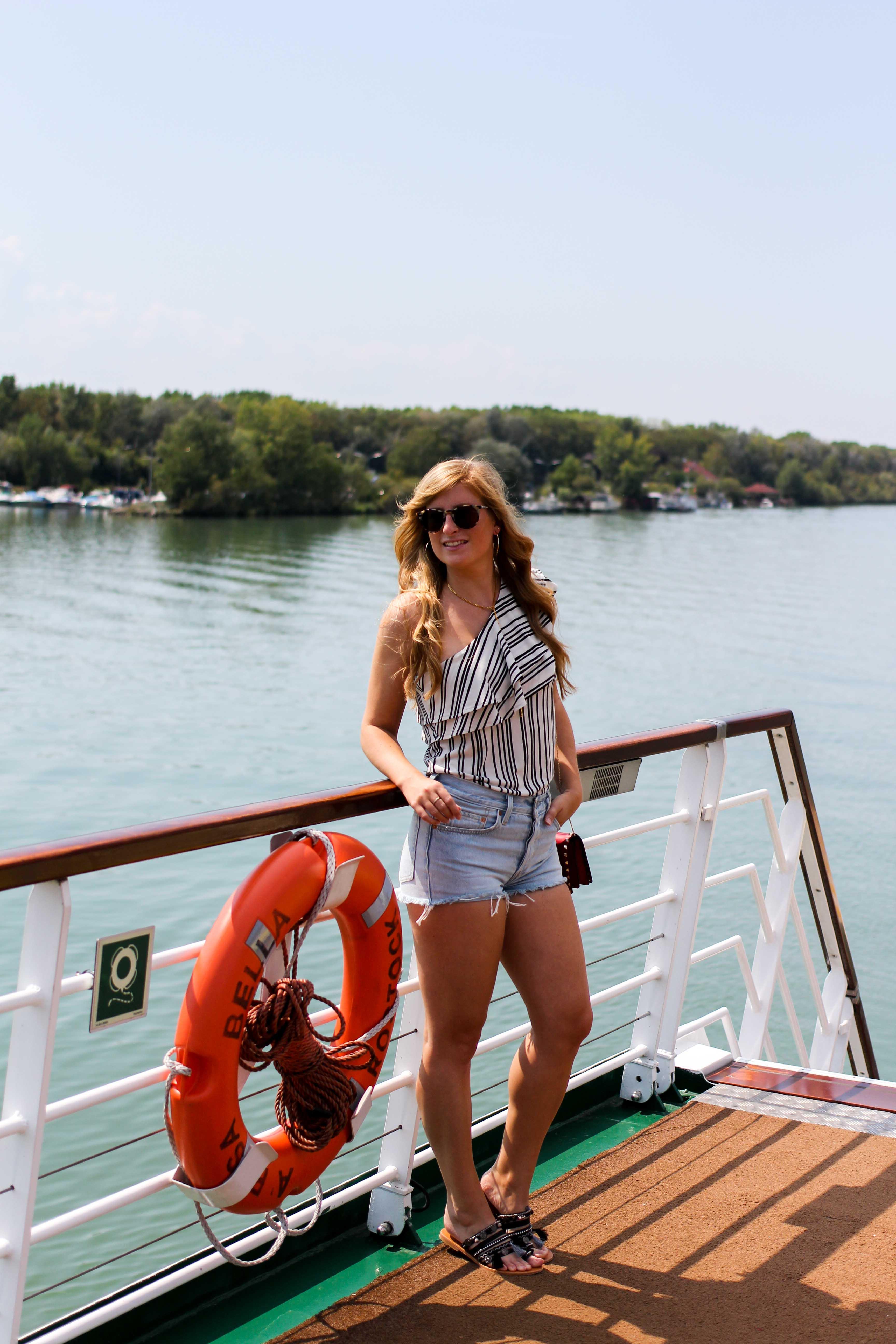 Donaukreuzfahrt A-Rosa Bella Flusskreuzfahrt Flusskreuzfahrtschiff Donau Engelhartszell Arosa Brinisfashionbook Reiseblogger