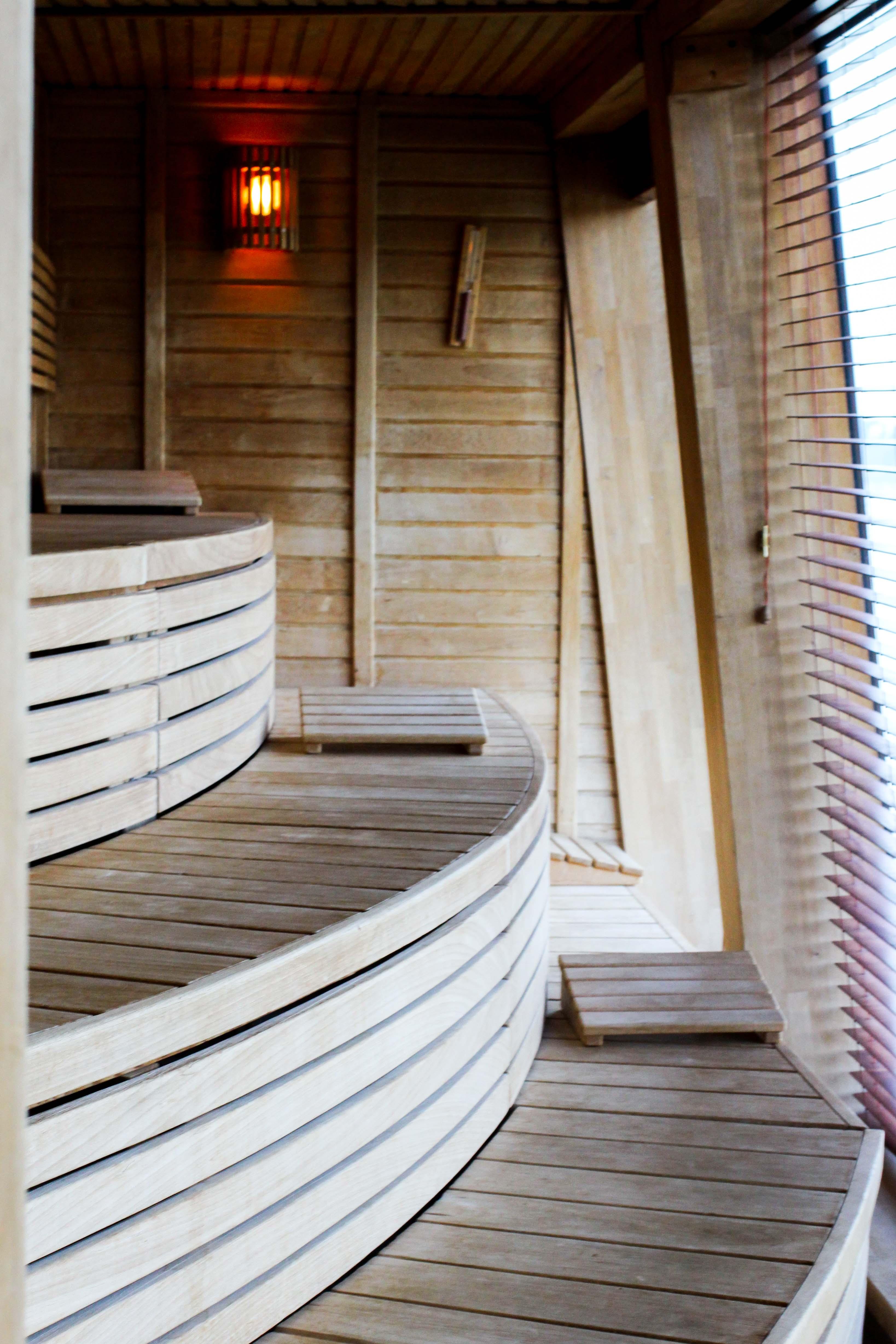 Donaukreuzfahrt A-Rosa Bella Wellnessbereich finnische Sauna Flusskreuzfahrt Flusskreuzfahrtschiff 7 Tage Donau Klassik Tour Arosa Reiseblogger